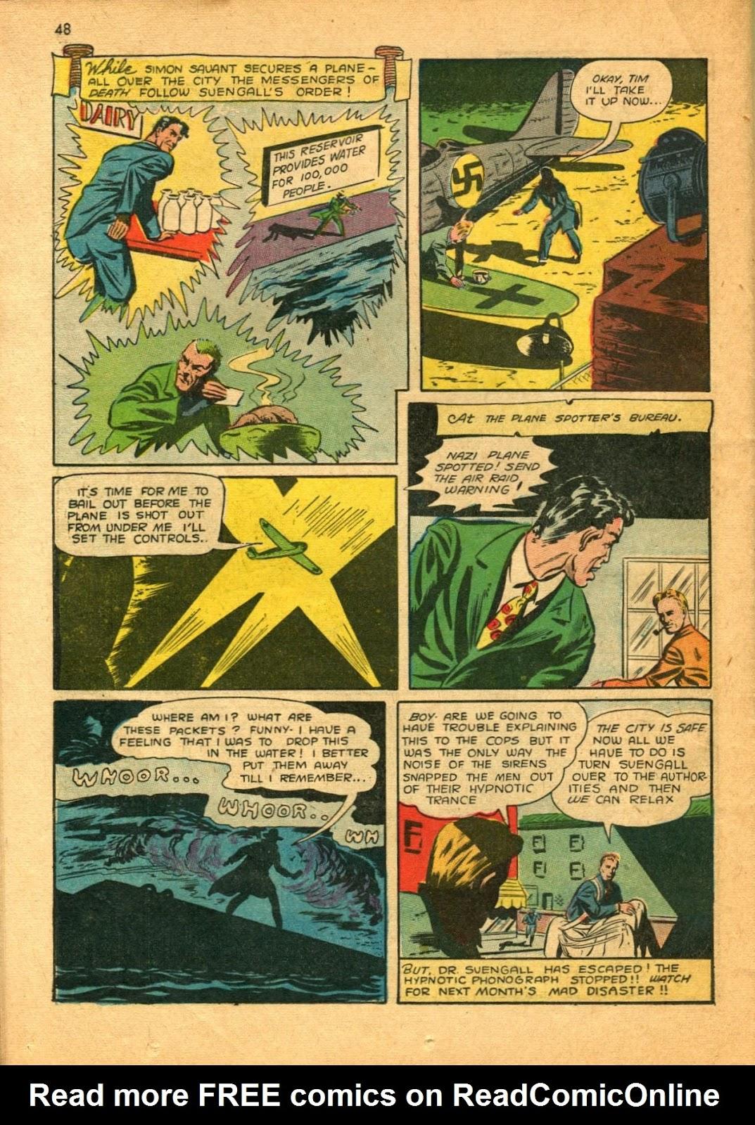 Read online Super-Magician Comics comic -  Issue #11 - 48