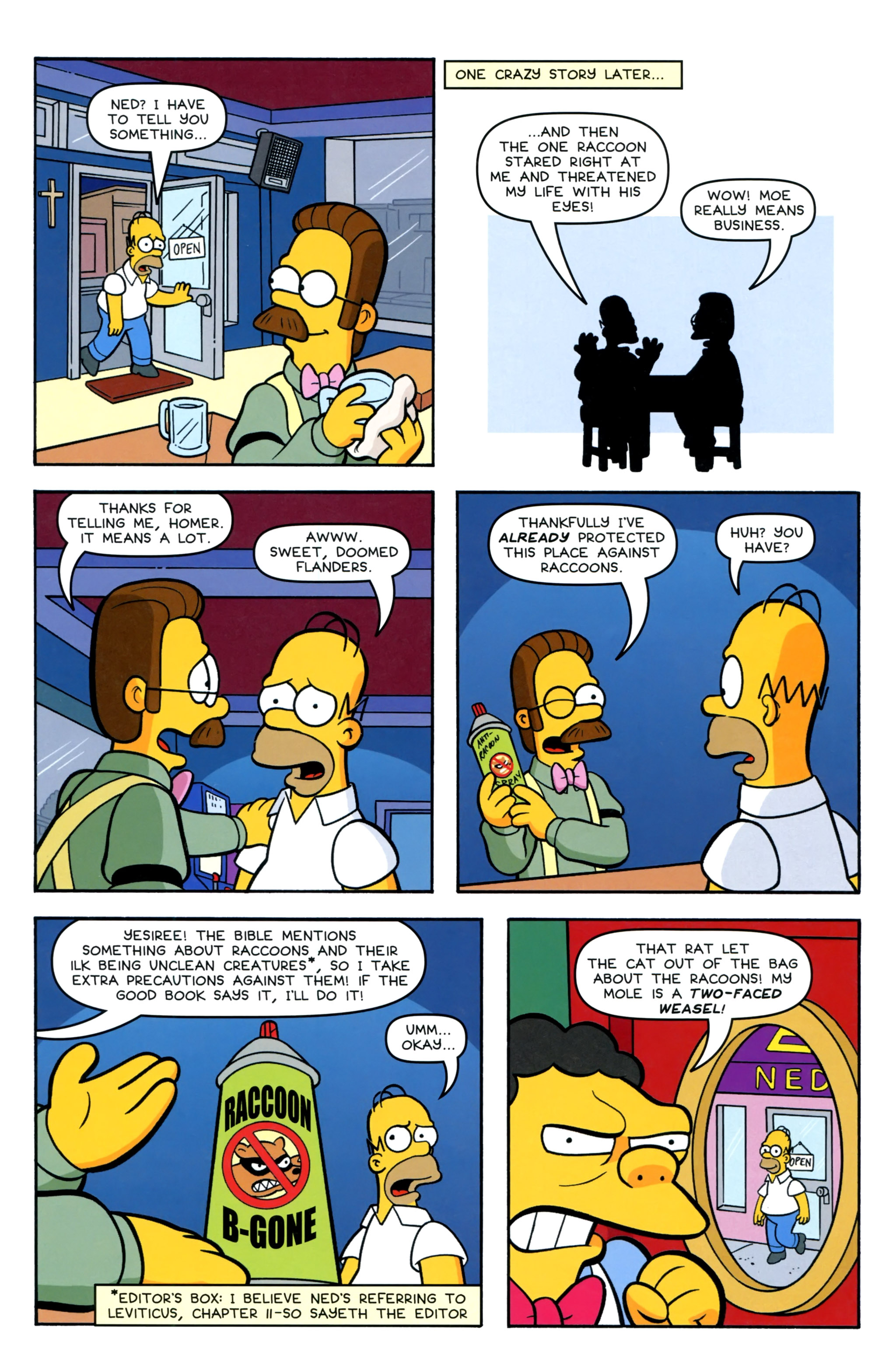 Read online Simpsons Comics comic -  Issue #220 - 22
