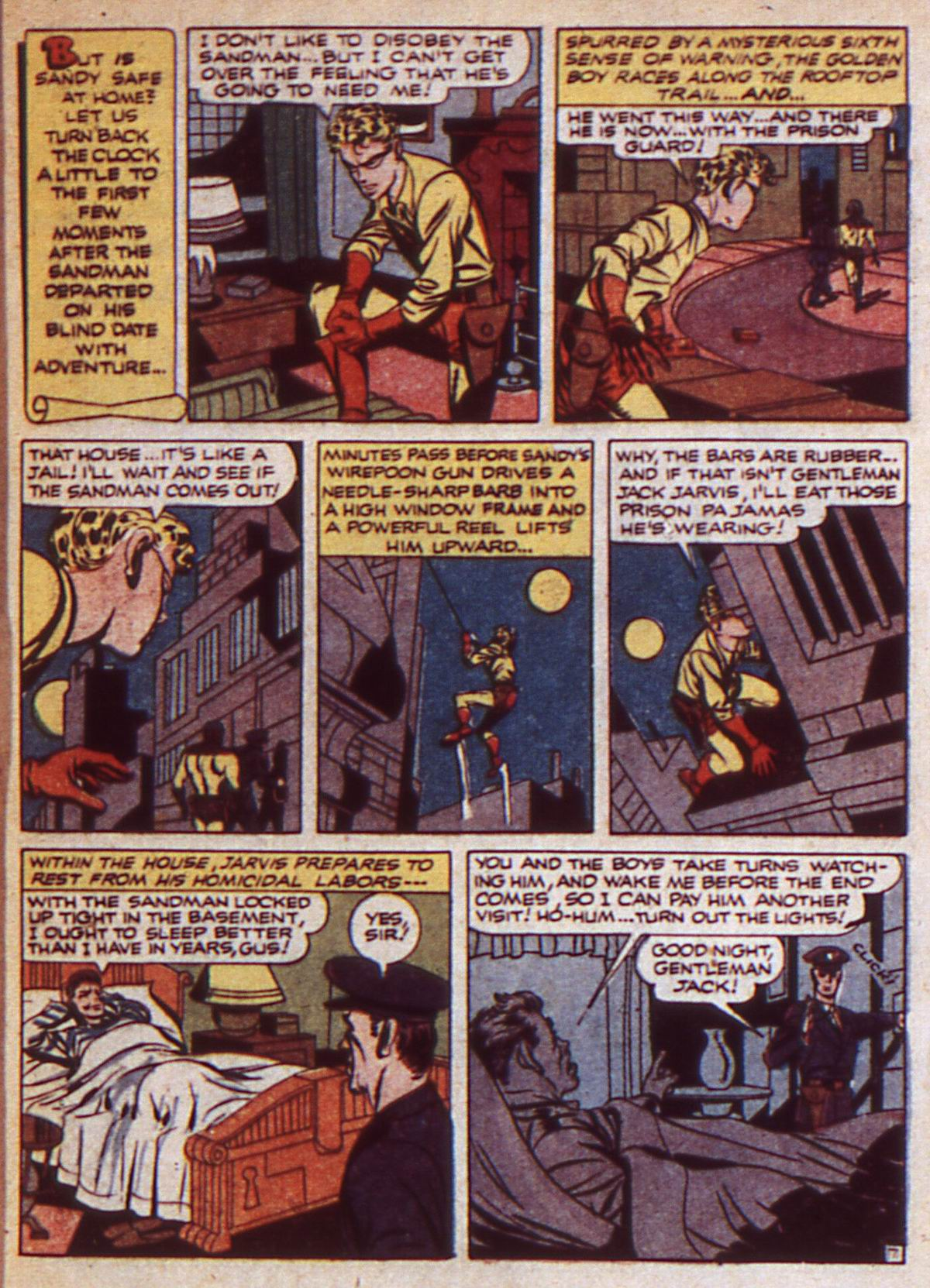 Read online Adventure Comics (1938) comic -  Issue #85 - 9