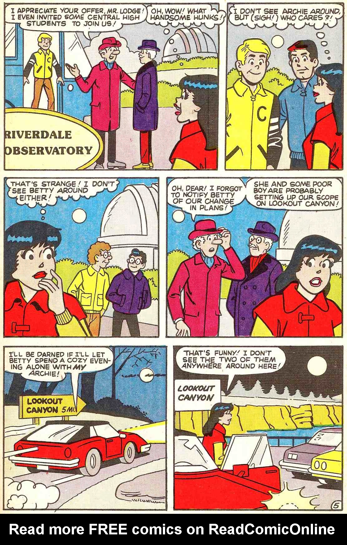 Read online Archie's Girls Betty and Veronica comic -  Issue #341 - 23