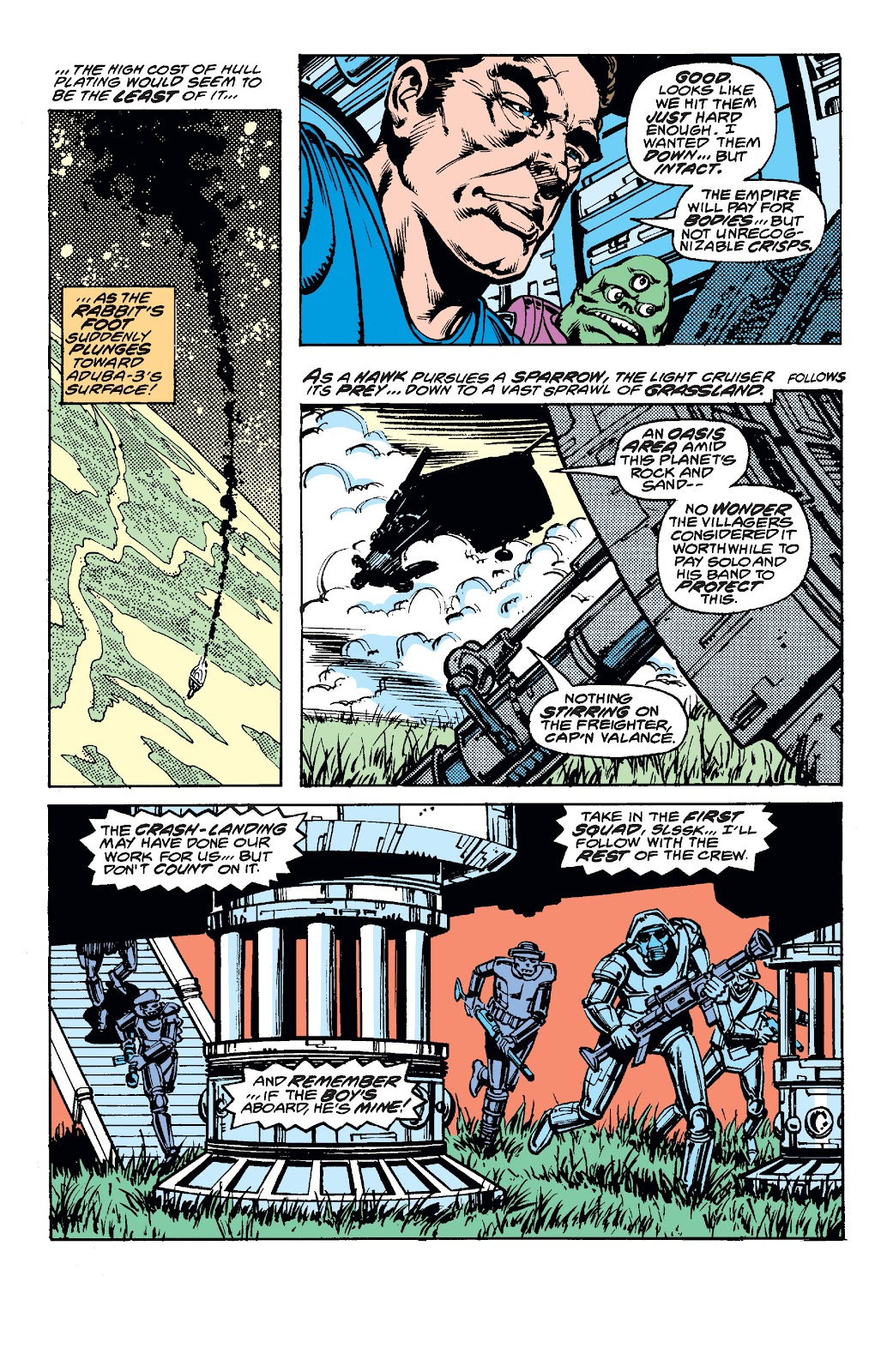 Read online Star Wars Legends: The Original Marvel Years - Epic Collection comic -  Issue # TPB 1 (Part 3) - 92