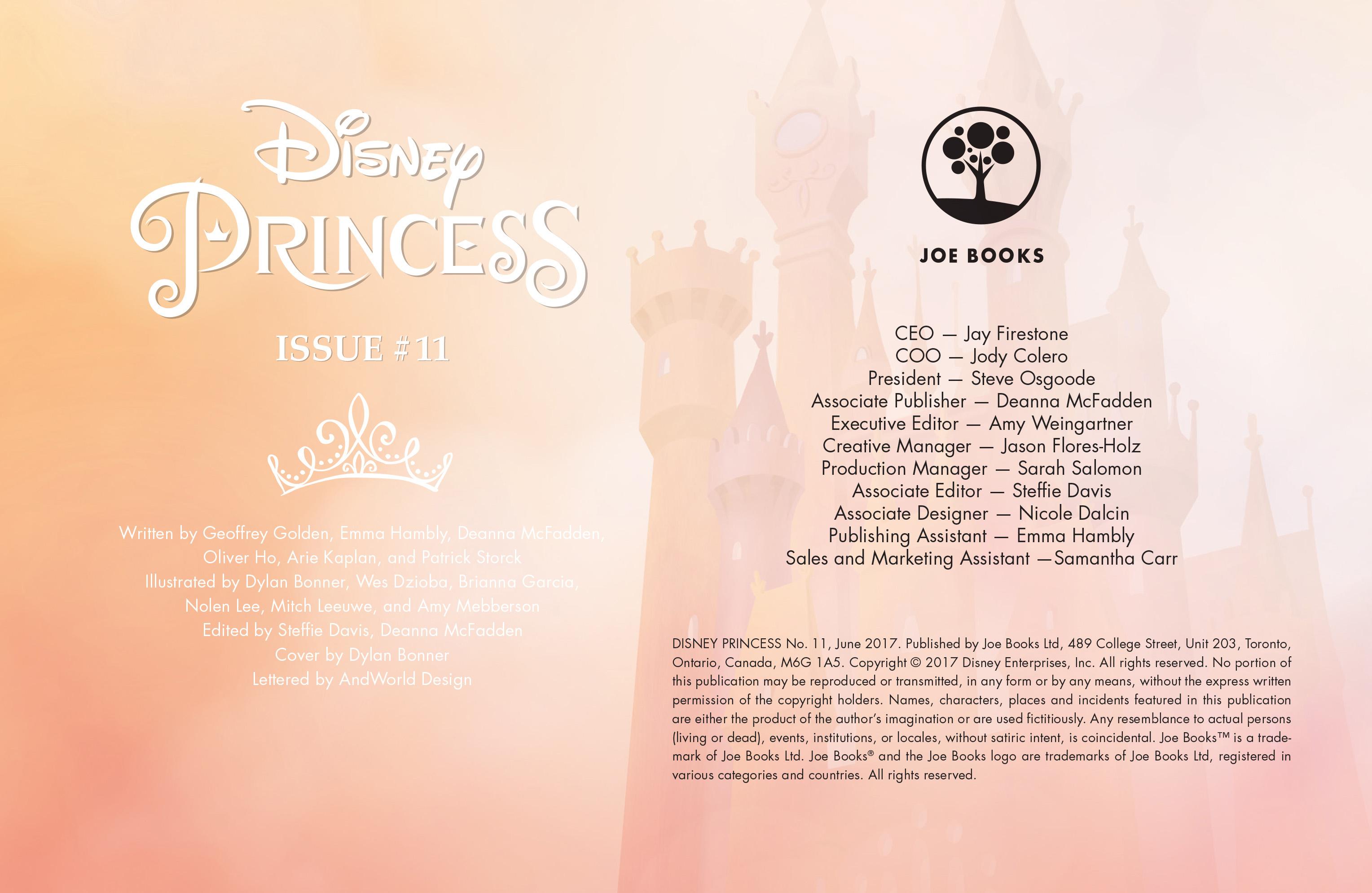 Read online Disney Princess comic -  Issue #11 - 2