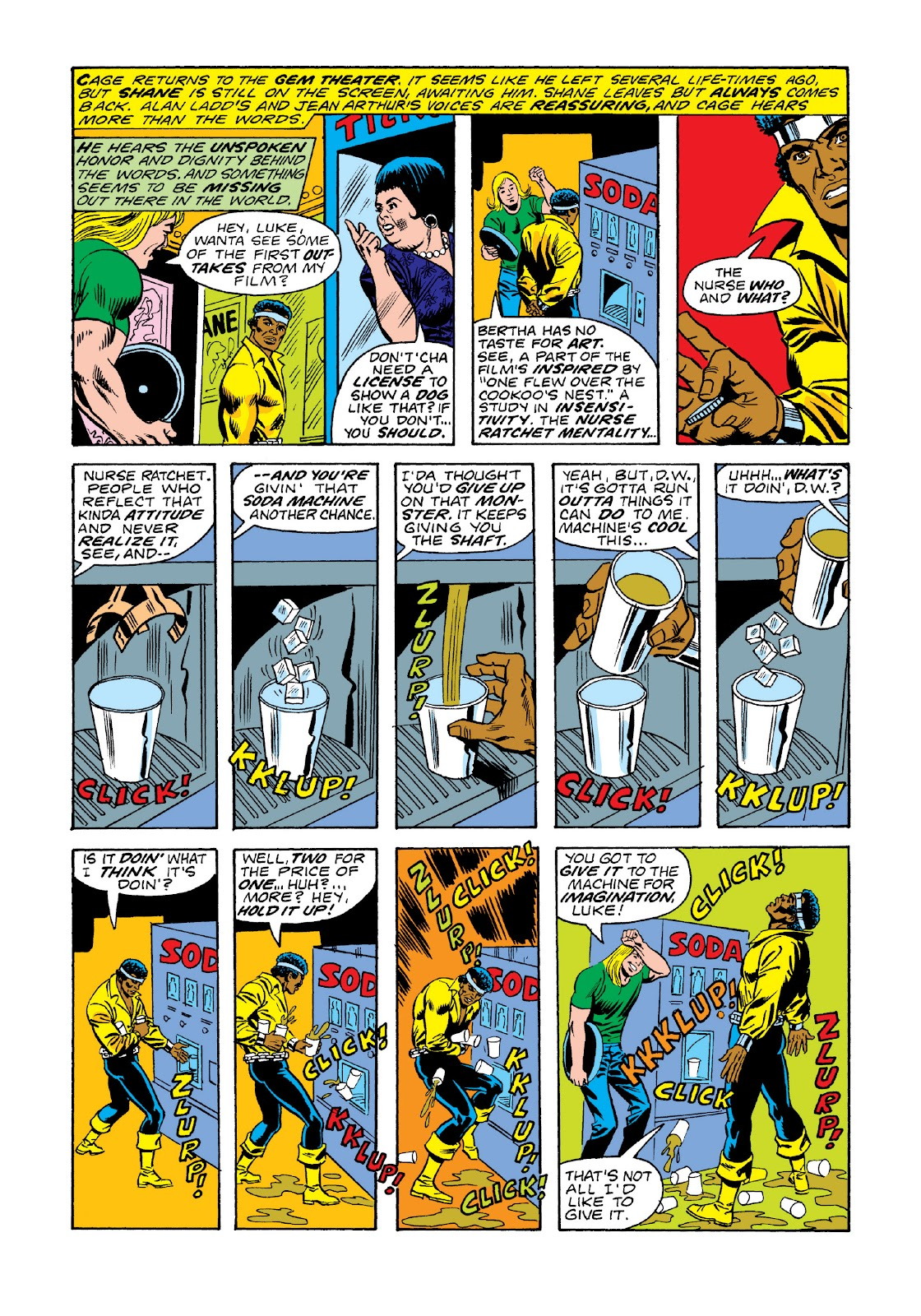 Read online Marvel Masterworks: Luke Cage, Power Man comic -  Issue # TPB 3 (Part 1) - 71