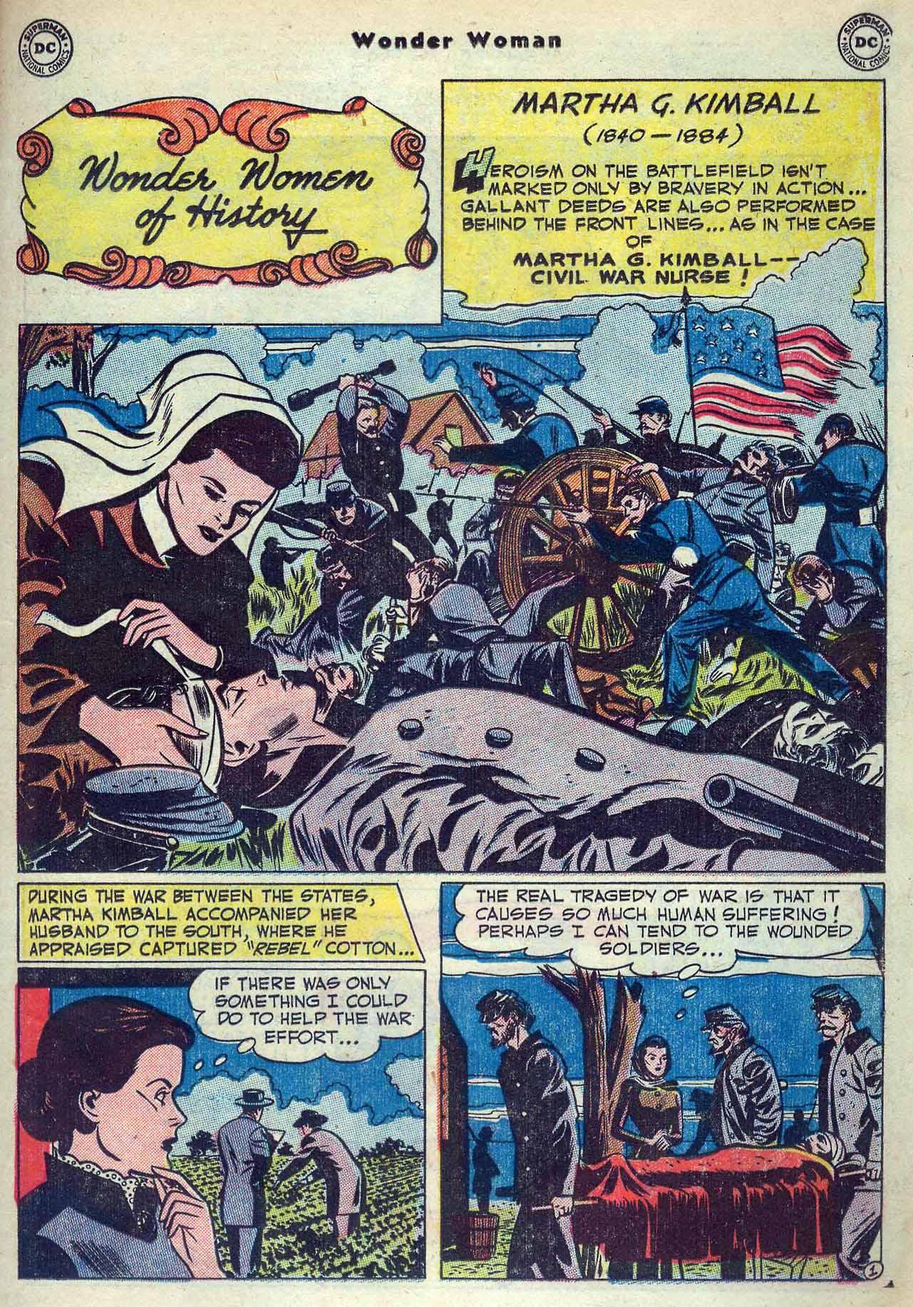 Read online Wonder Woman (1942) comic -  Issue #53 - 25