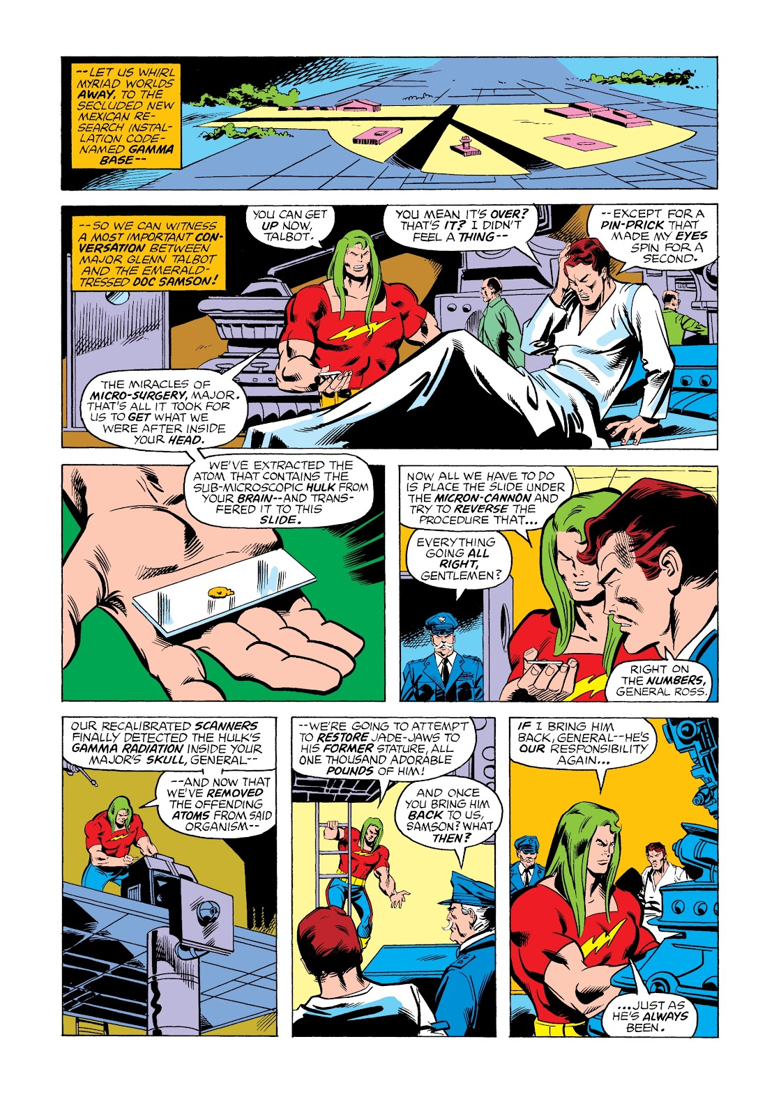 Read online Marvel Masterworks: The Incredible Hulk comic -  Issue # TPB 12 (Part 2) - 62