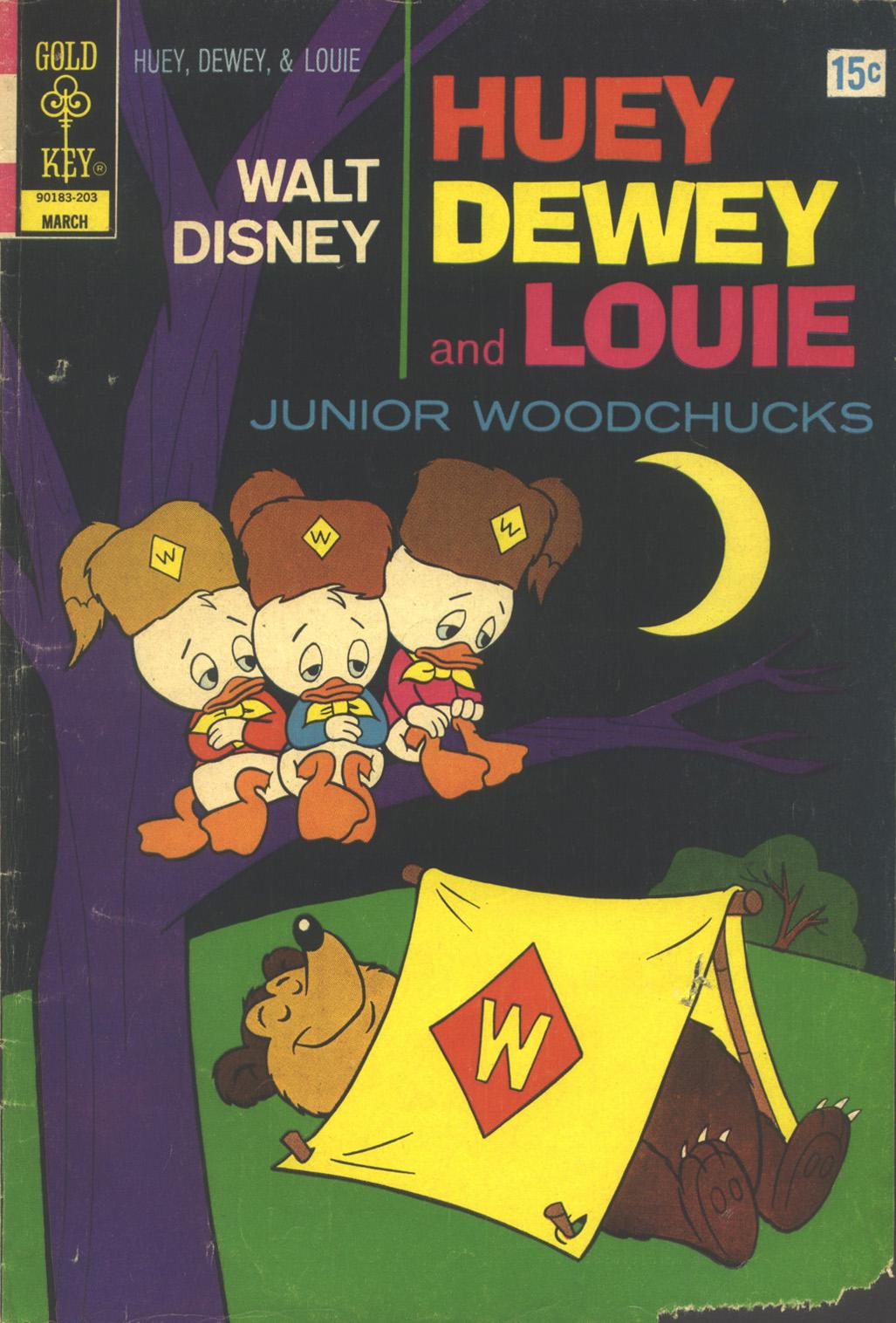 Huey, Dewey, and Louie Junior Woodchucks 13 Page 1
