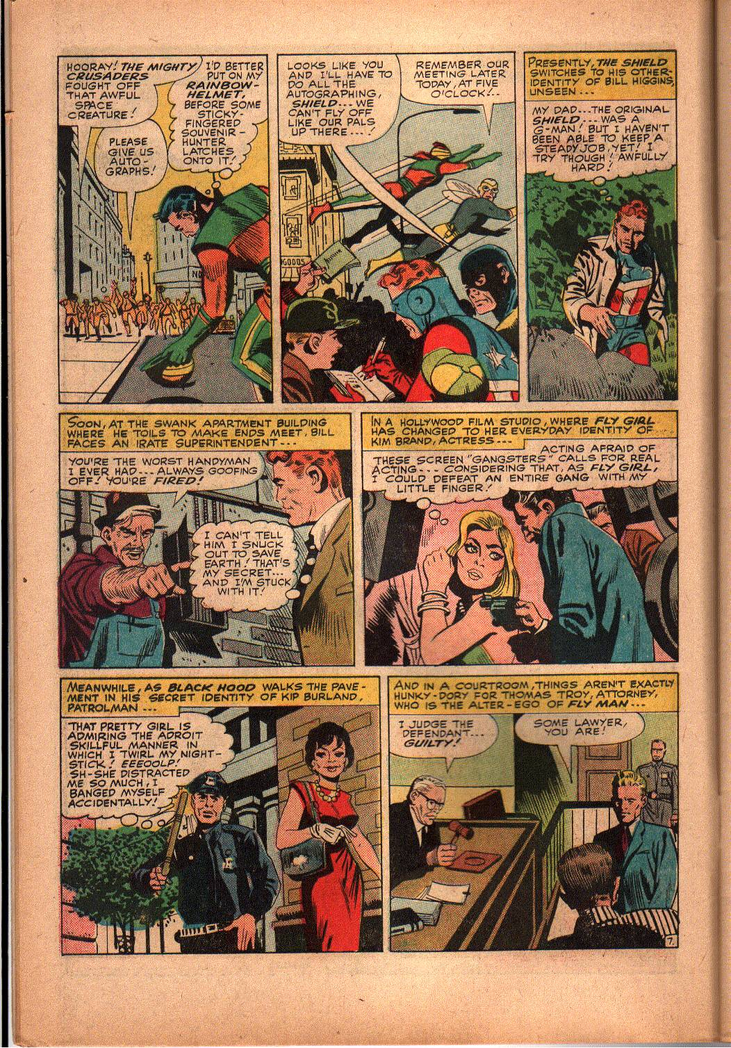 The Mighty Crusaders (1965) Issue #3 #3 - English 8
