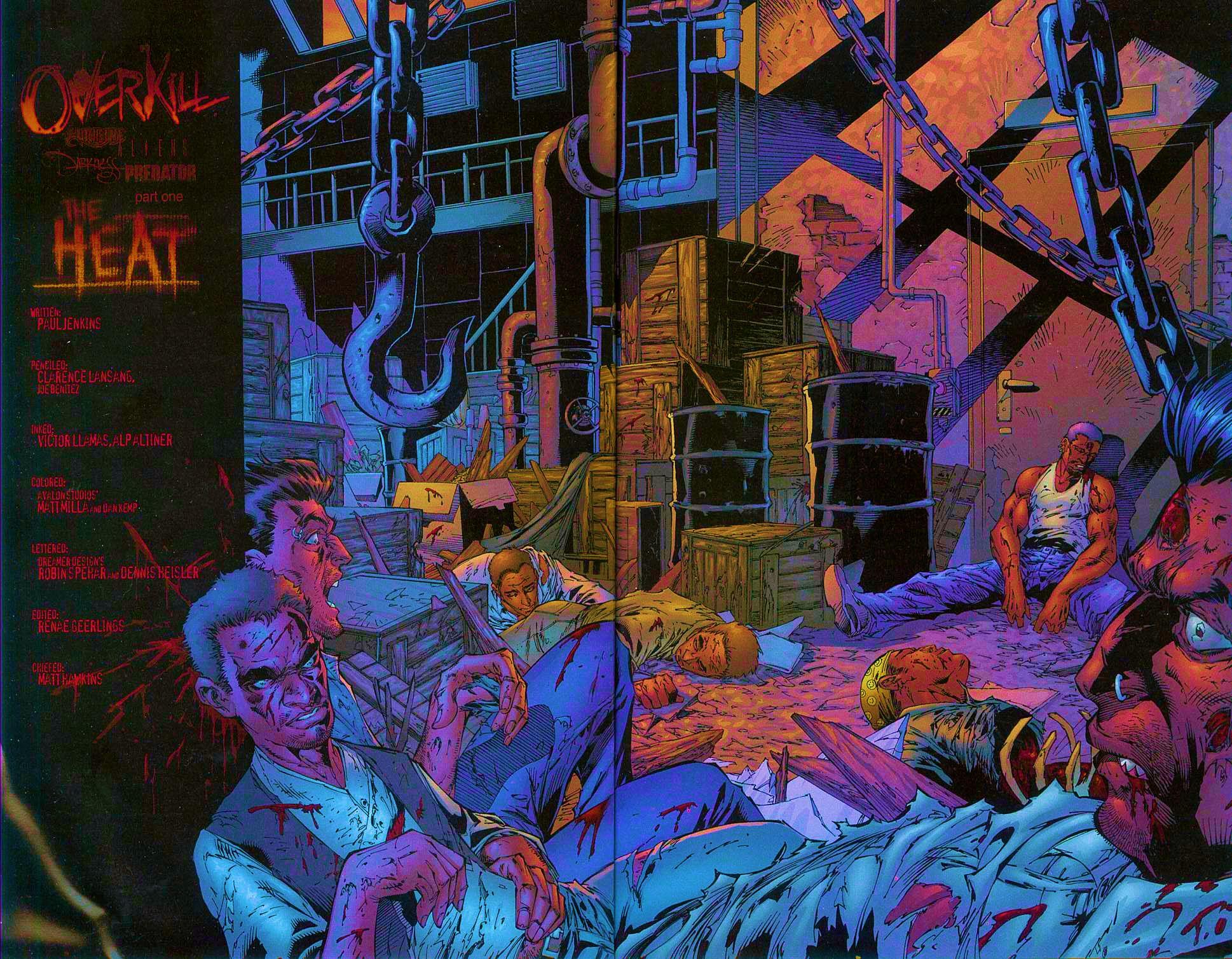 Read online Overkill: Witchblade/Aliens/Darkness/Predator comic -  Issue #1 - 12