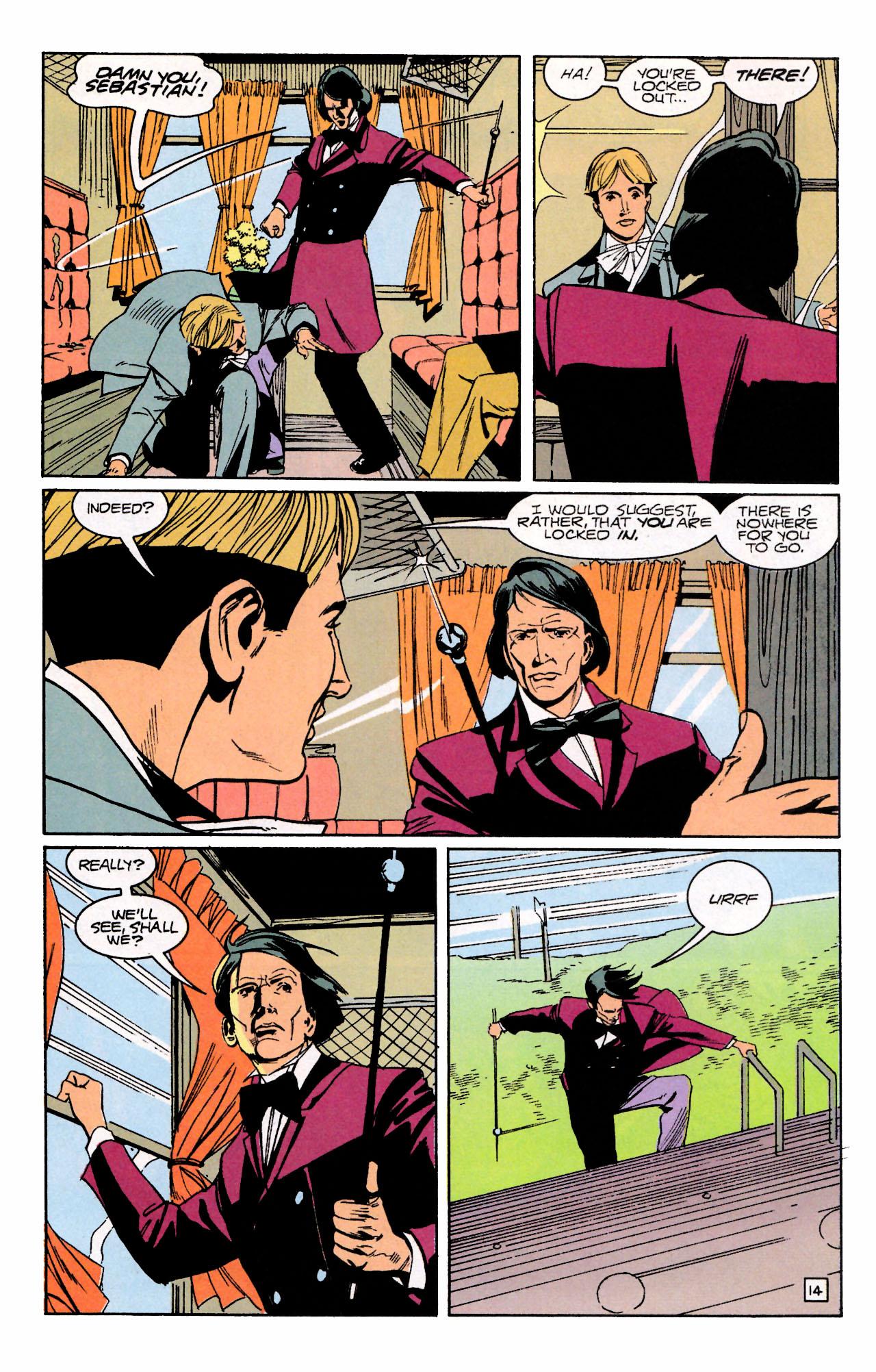 Read online Sebastian O comic -  Issue #3 - 18