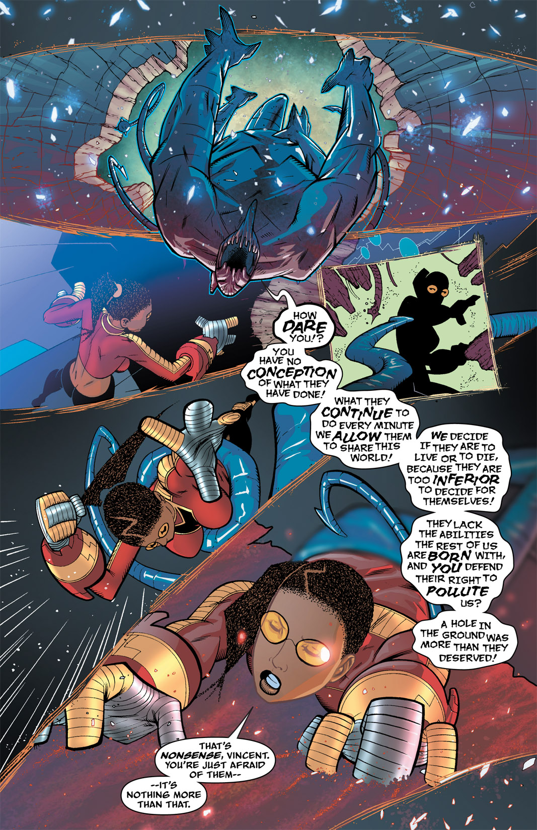 Read online The Many Adventures of Miranda Mercury: Time Runs Out comic -  Issue # TPB - 59
