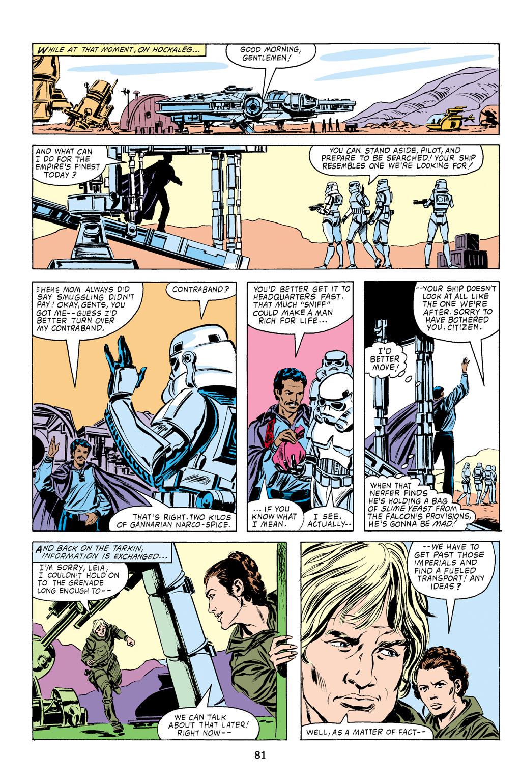 Read online Star Wars Omnibus comic -  Issue # Vol. 16 - 81