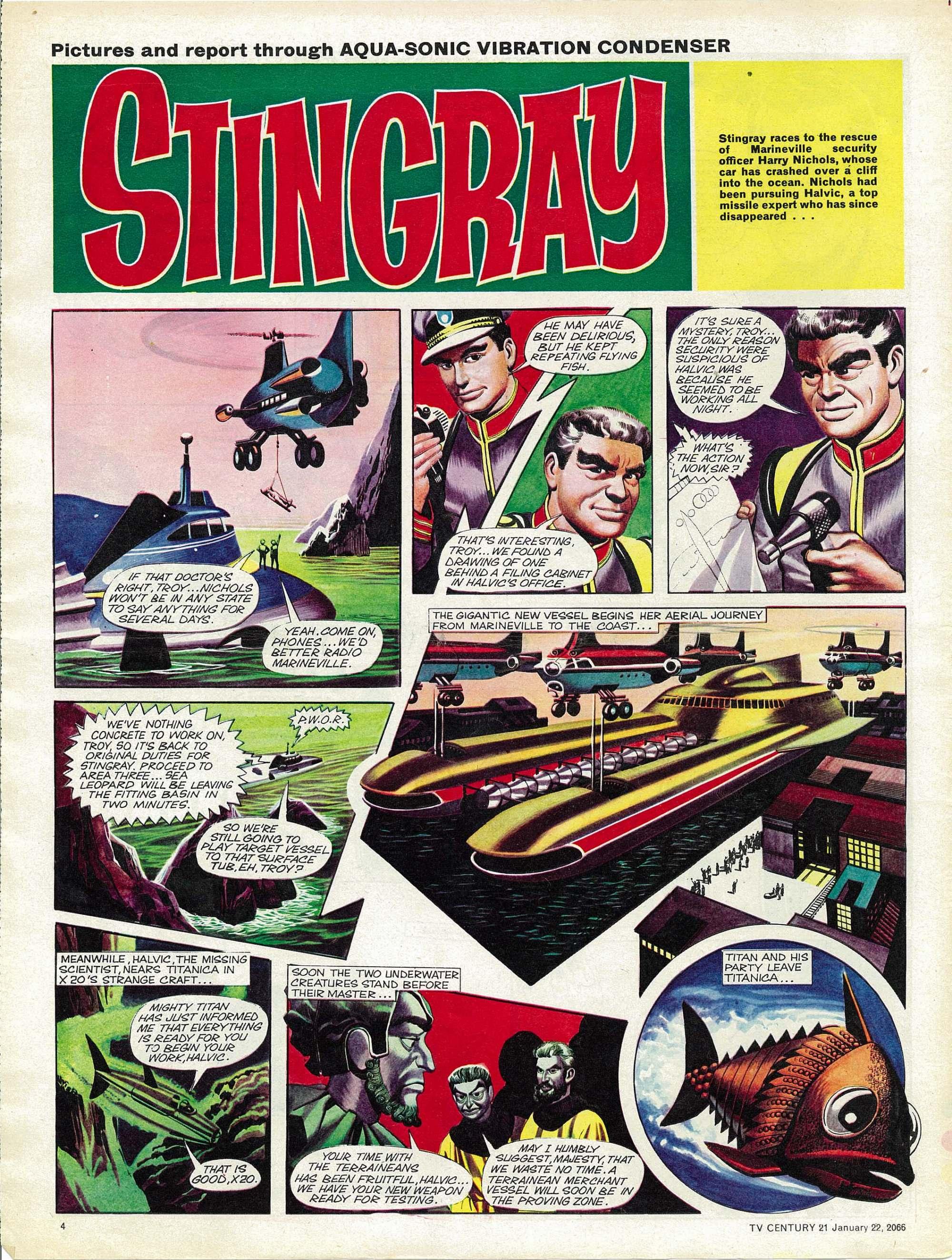 Read online TV Century 21 (TV 21) comic -  Issue #53 - 4