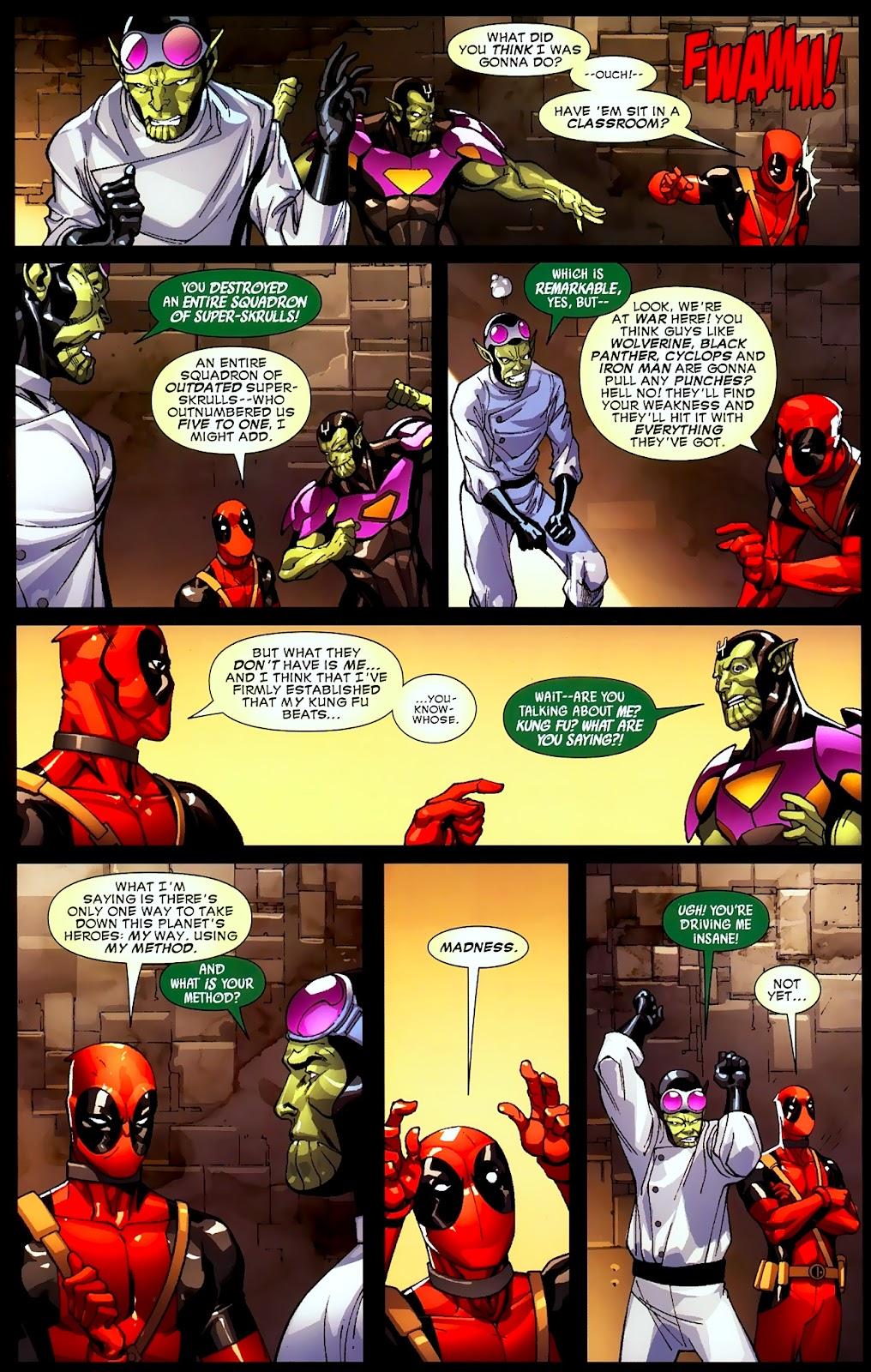 Read online Deadpool (2008) comic -  Issue #2 - 17