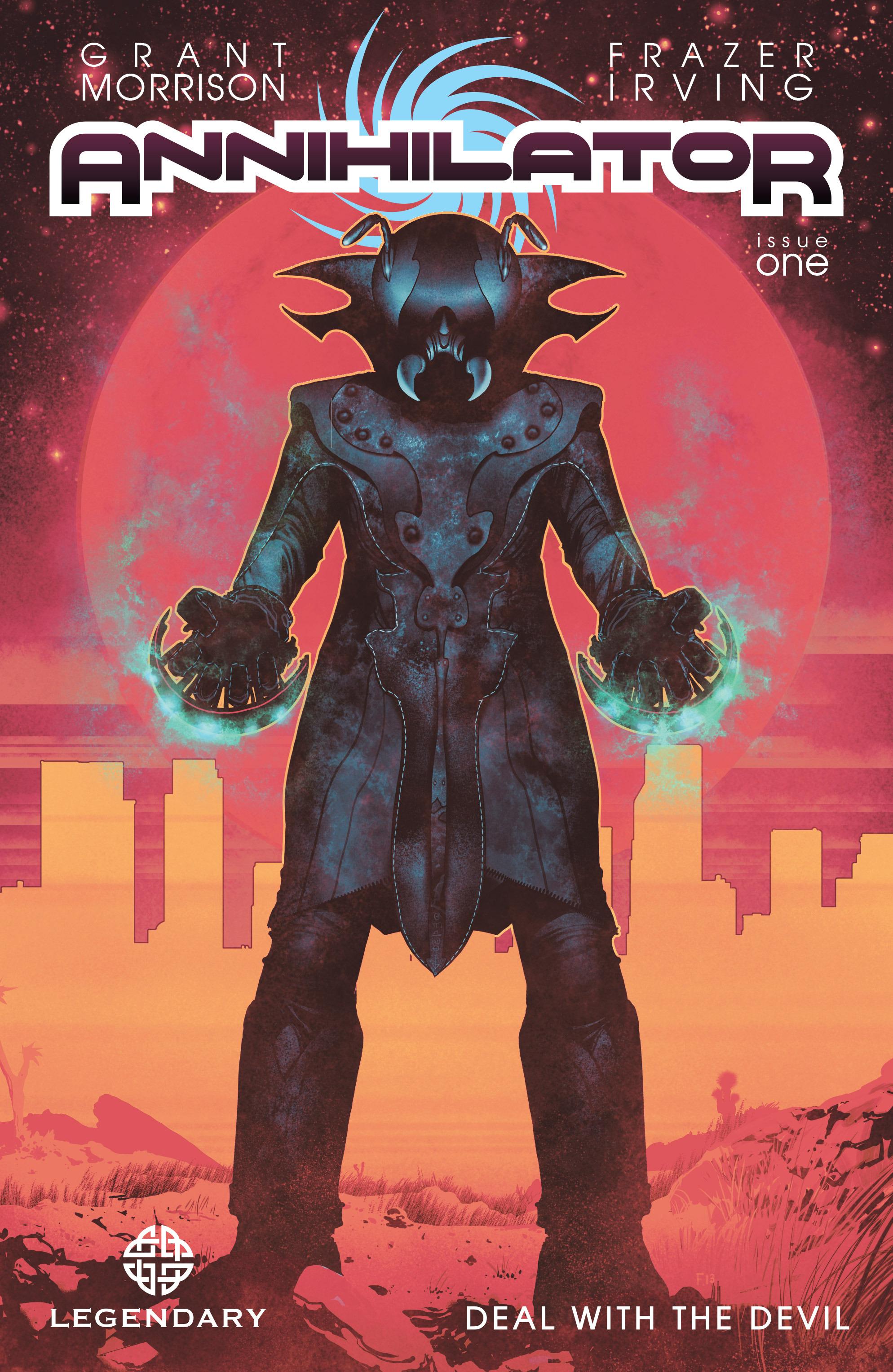 Read online Annihilator comic -  Issue #1 - 1