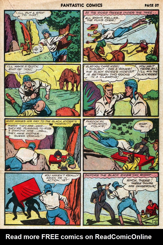 Read online Fantastic Comics comic -  Issue #18 - 39