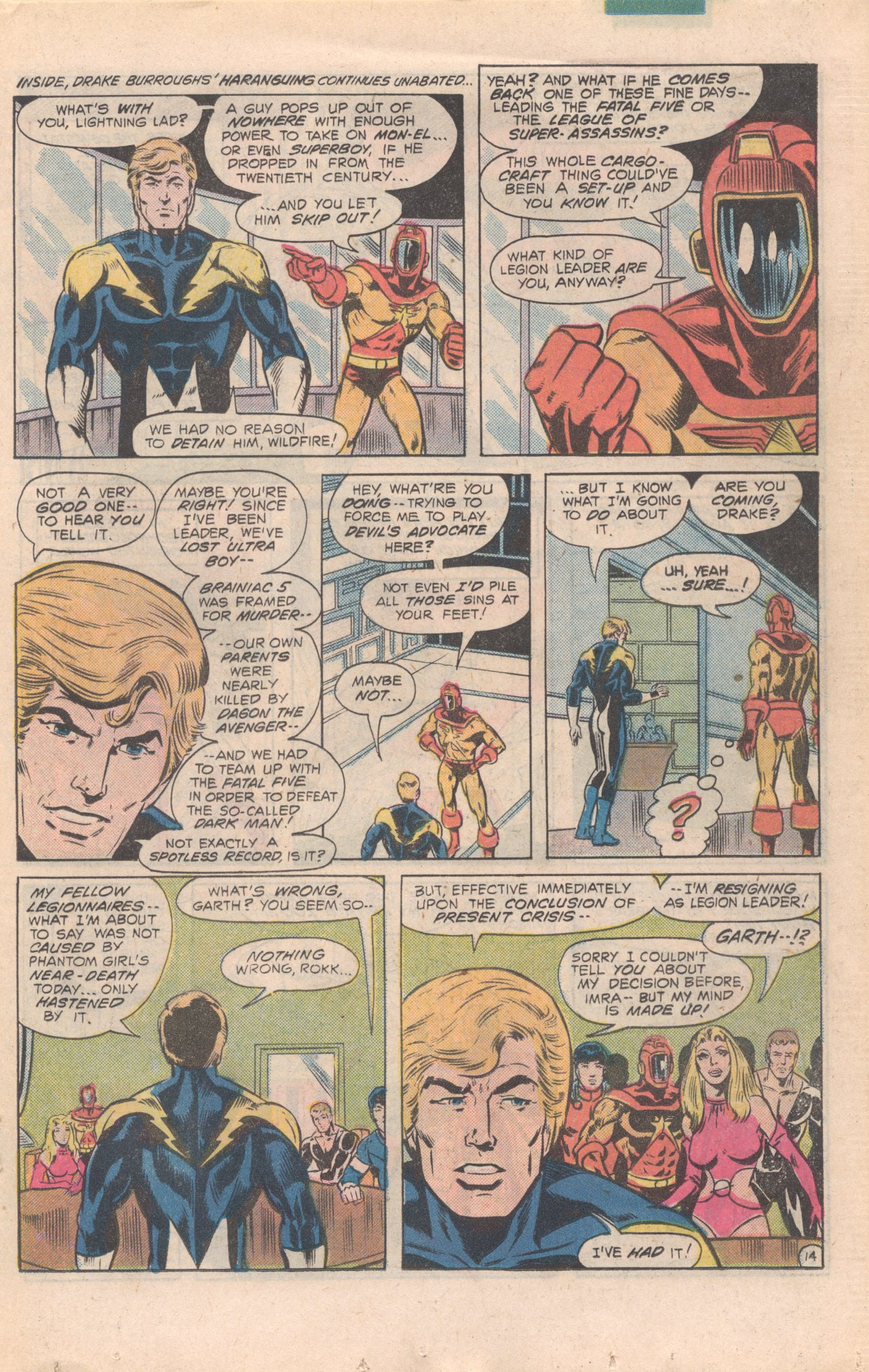 Legion of Super-Heroes (1980) 277 Page 14