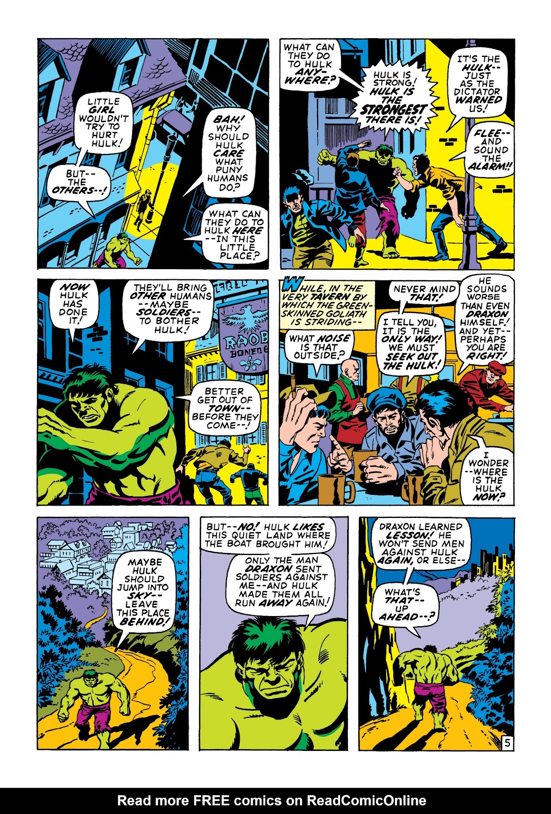 Read online Marvel Masterworks: The Incredible Hulk comic -  Issue # TPB 6 (Part 3) - 59
