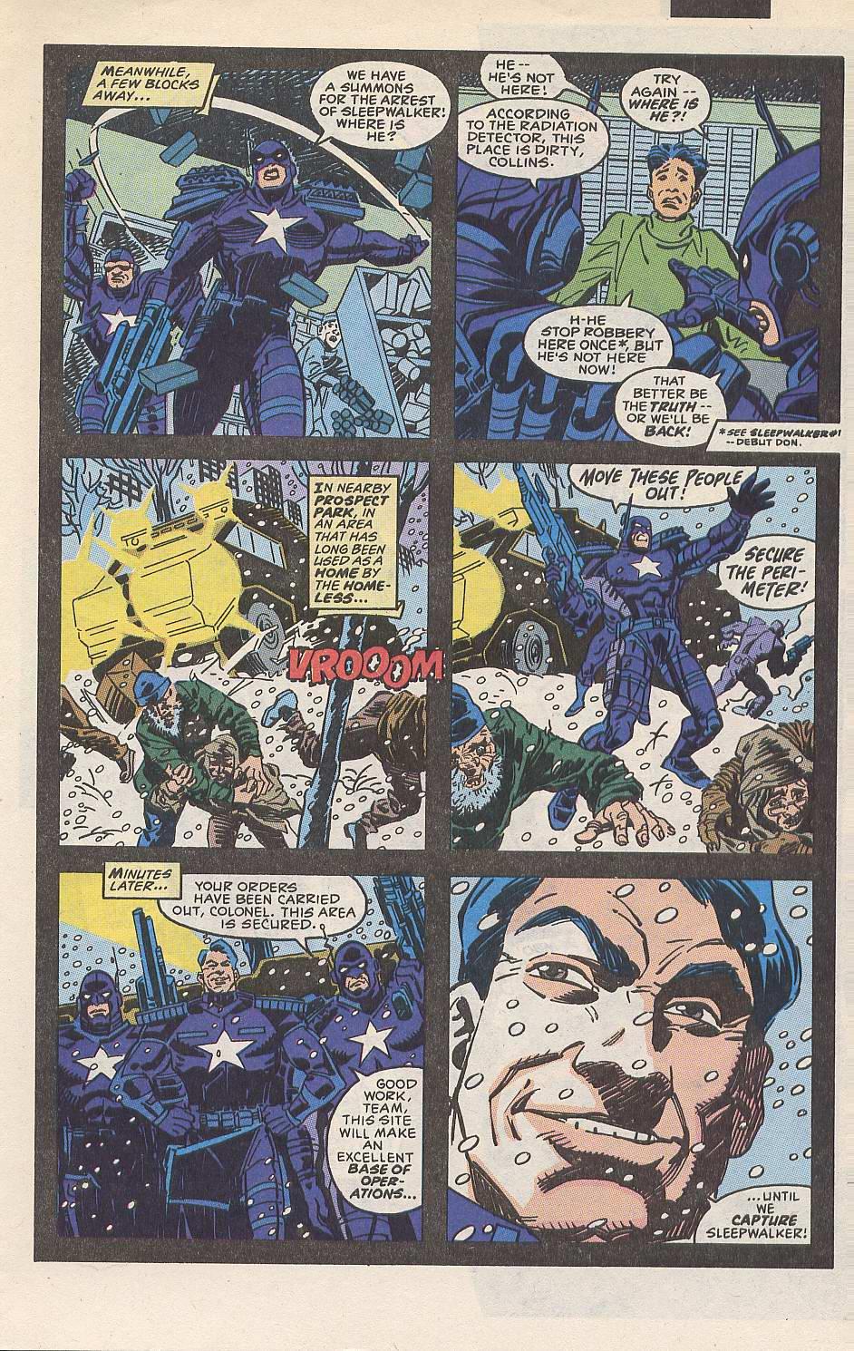 Read online Sleepwalker comic -  Issue #10 - 4