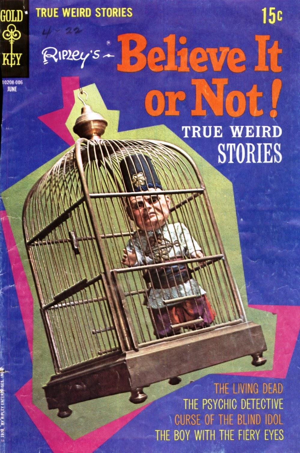 Ripleys Believe it or Not! (1965) 20 Page 1
