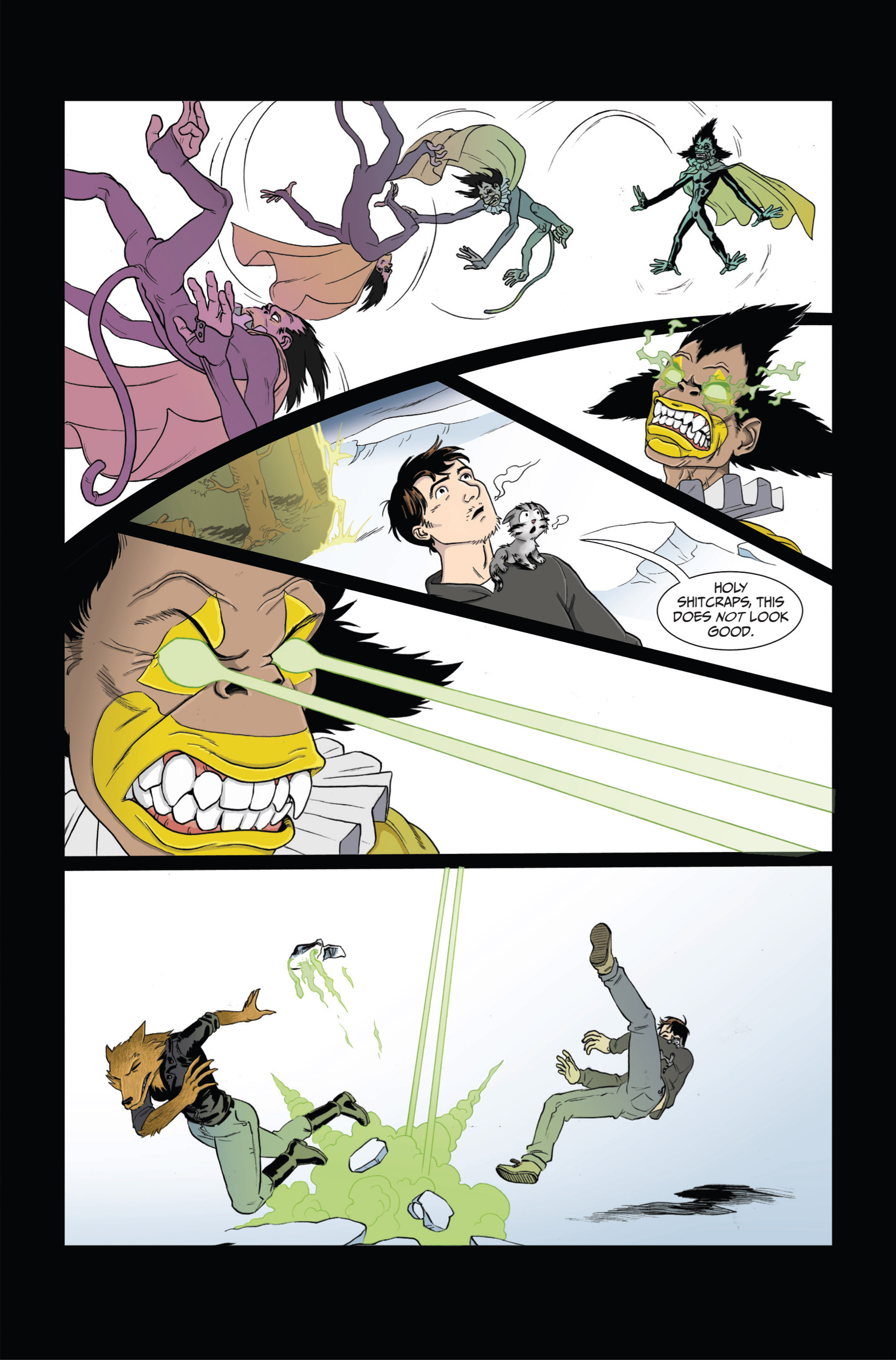 Read online Ehmm Theory: Everything & Small Doses comic -  Issue #4 - 9