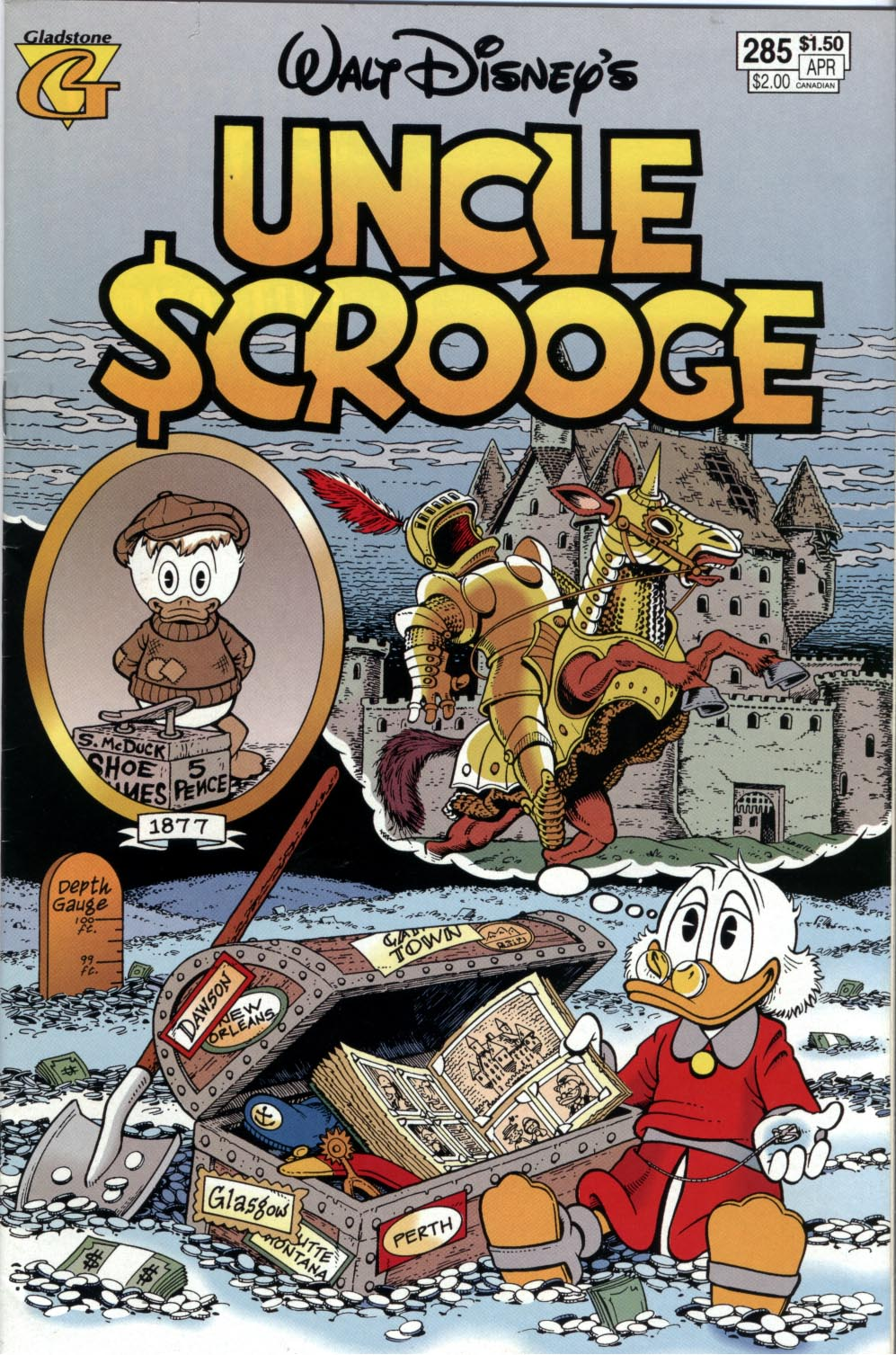 Read online Uncle Scrooge (1953) comic -  Issue #285 - 1
