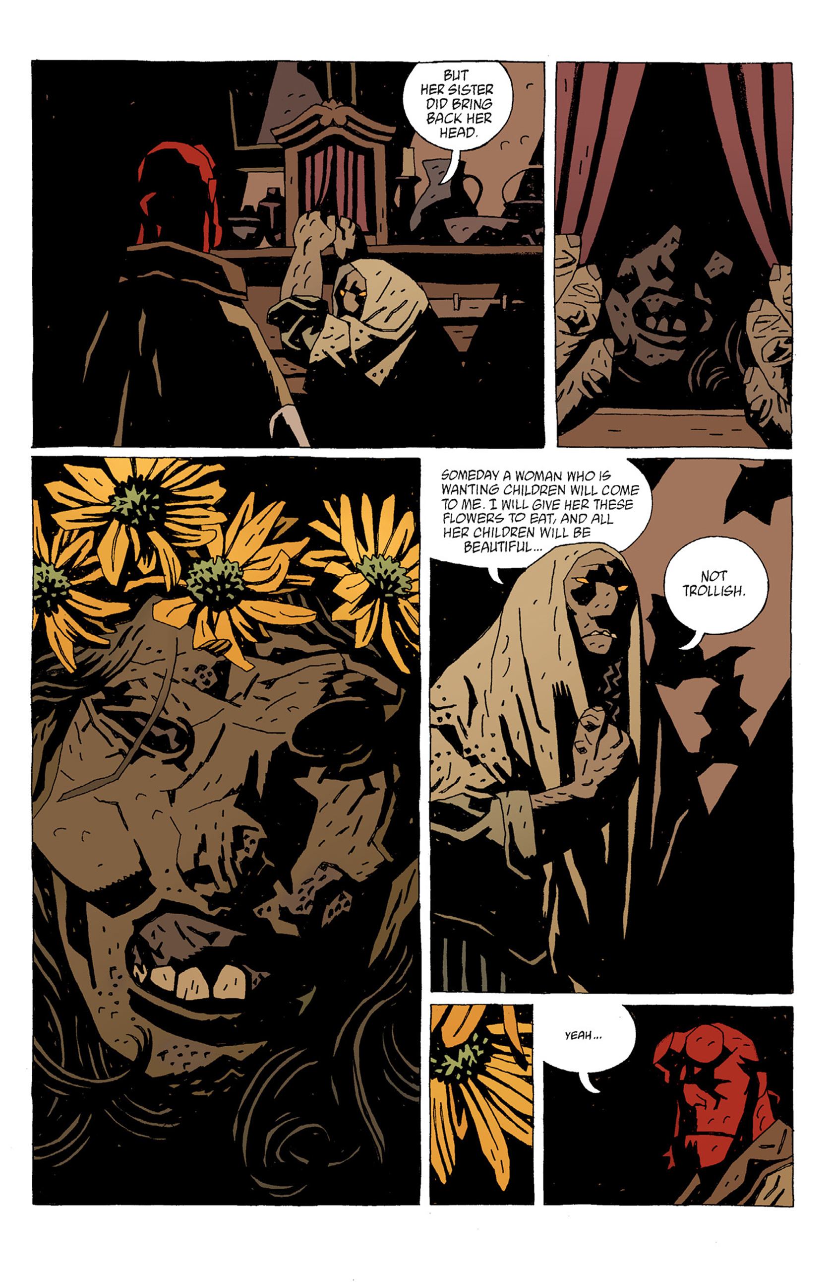 Read online Hellboy: The Troll Witch and Others comic -  Issue # TPB - 33