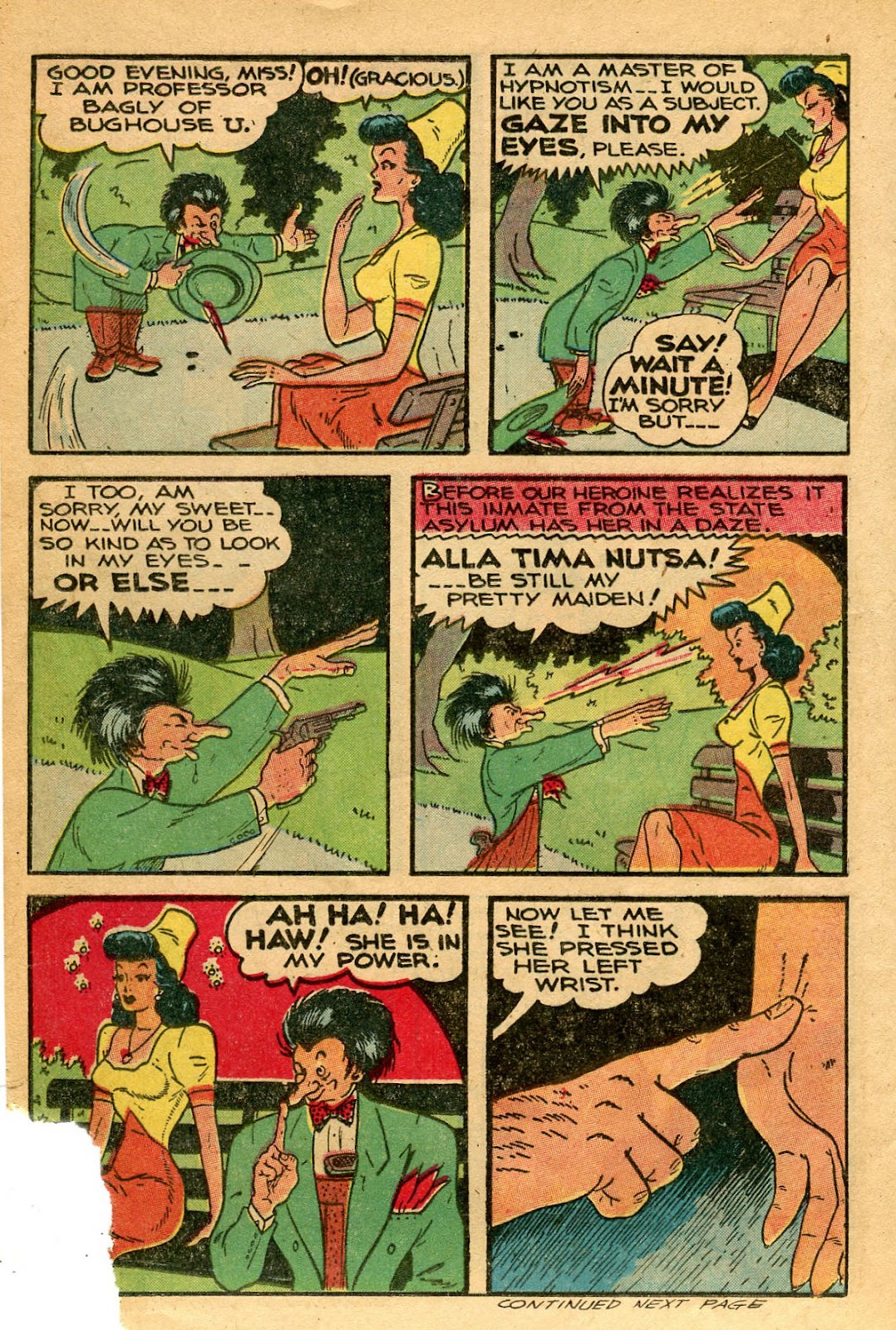 Read online Famous Funnies comic -  Issue #127 - 16