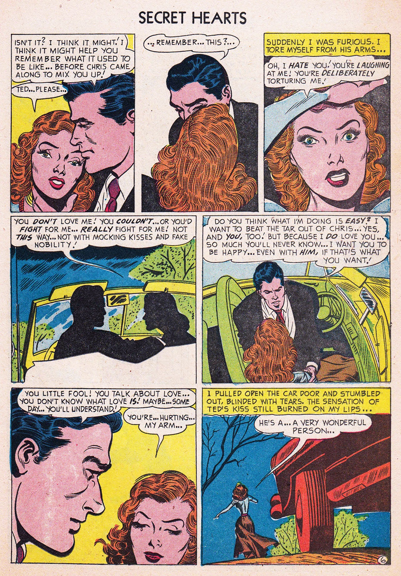 Read online Secret Hearts comic -  Issue #13 - 23