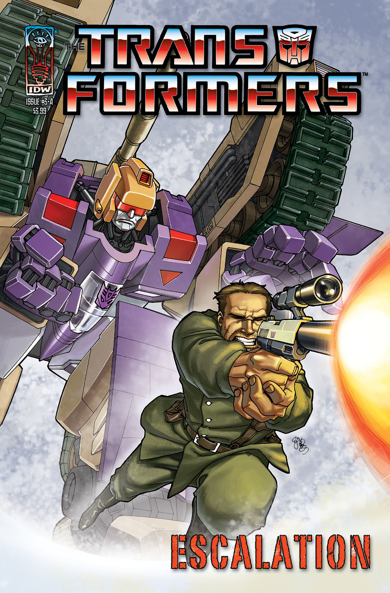 The Transformers: Escalation 3 Page 1
