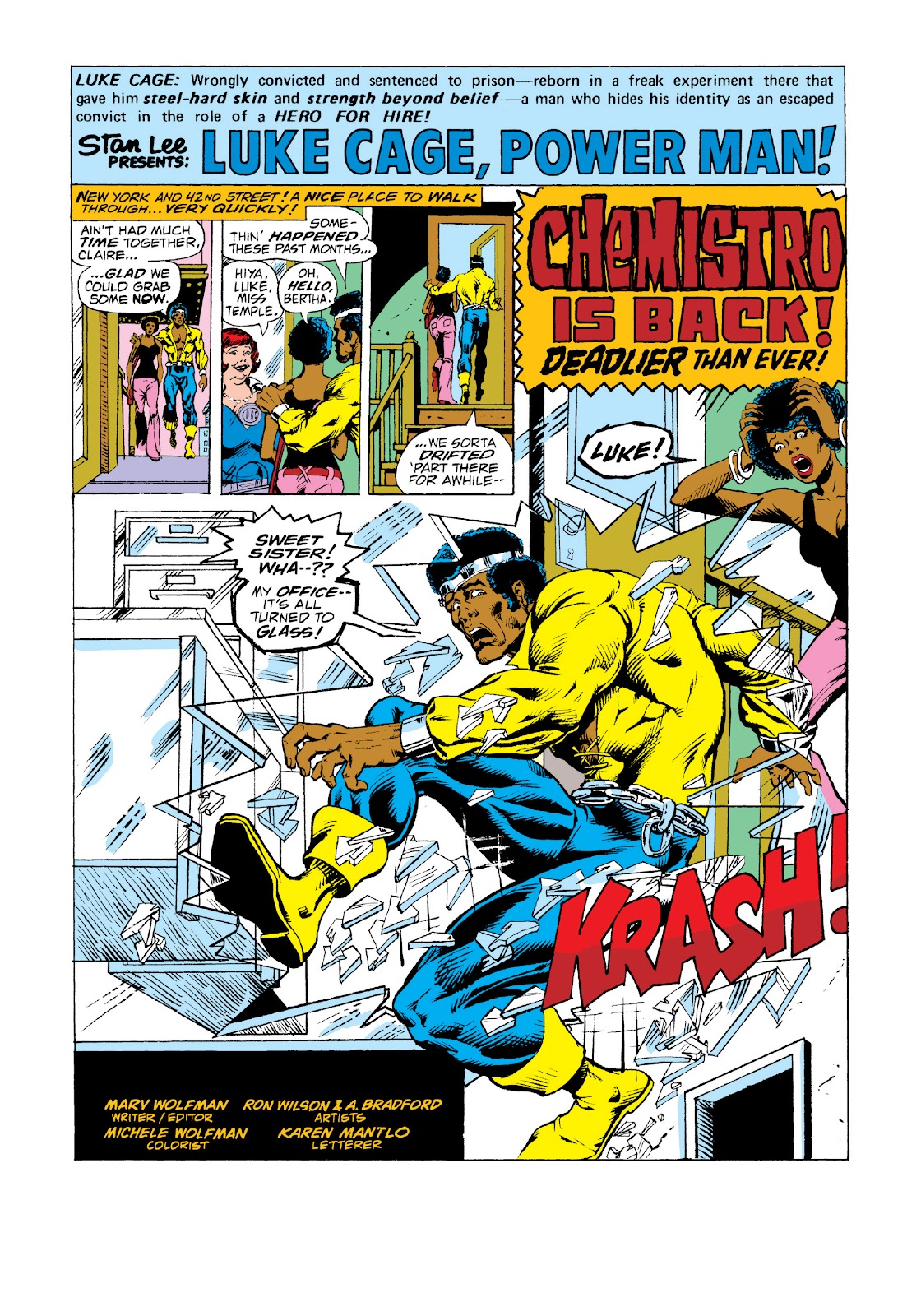 Read online Marvel Masterworks: Luke Cage, Power Man comic -  Issue # TPB 3 (Part 2) - 19