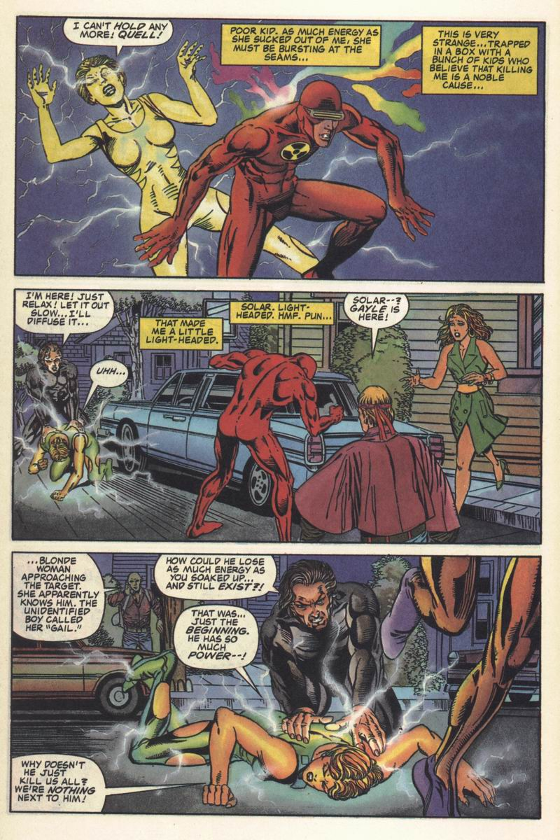 Read online Solar, Man of the Atom comic -  Issue #11 - 7