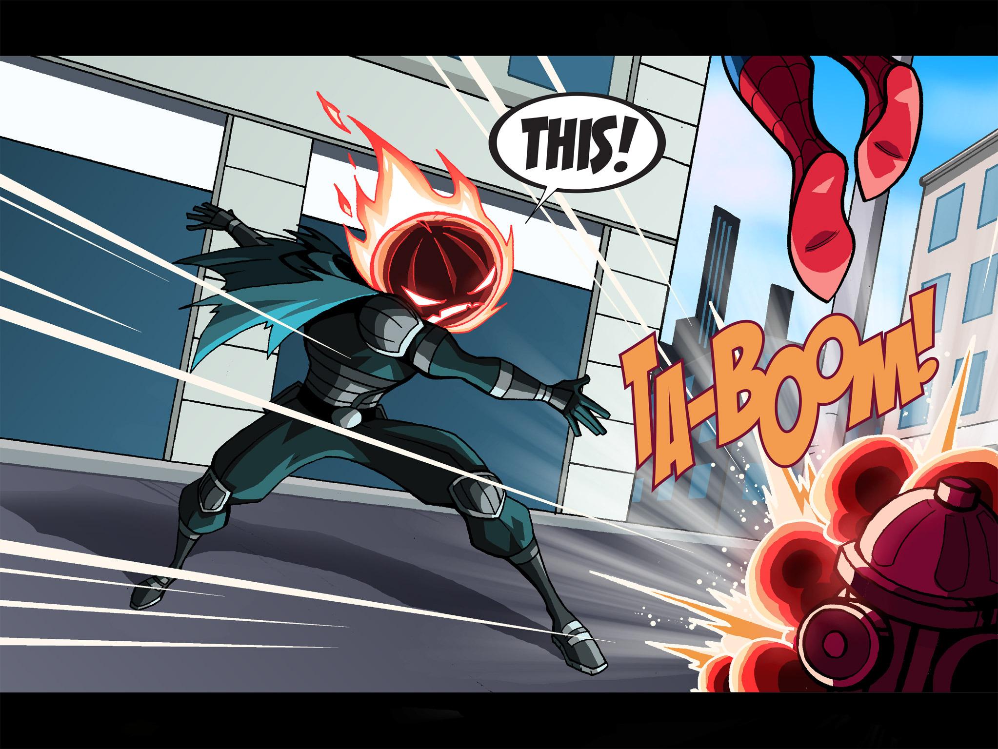 Read online Ultimate Spider-Man (Infinite Comics) (2015) comic -  Issue #1 - 14