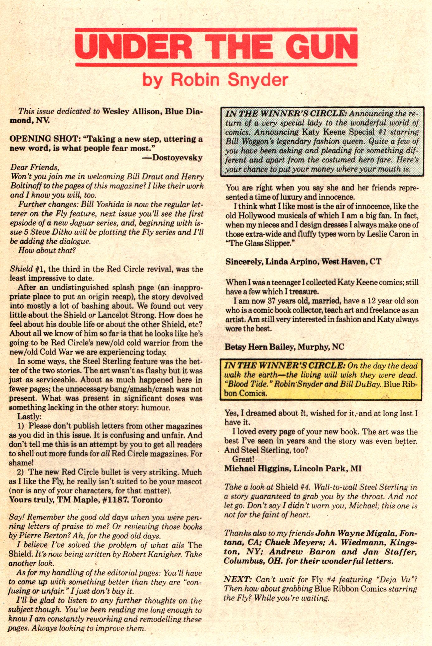 Read online The Fly (1983) comic -  Issue #3 - 31