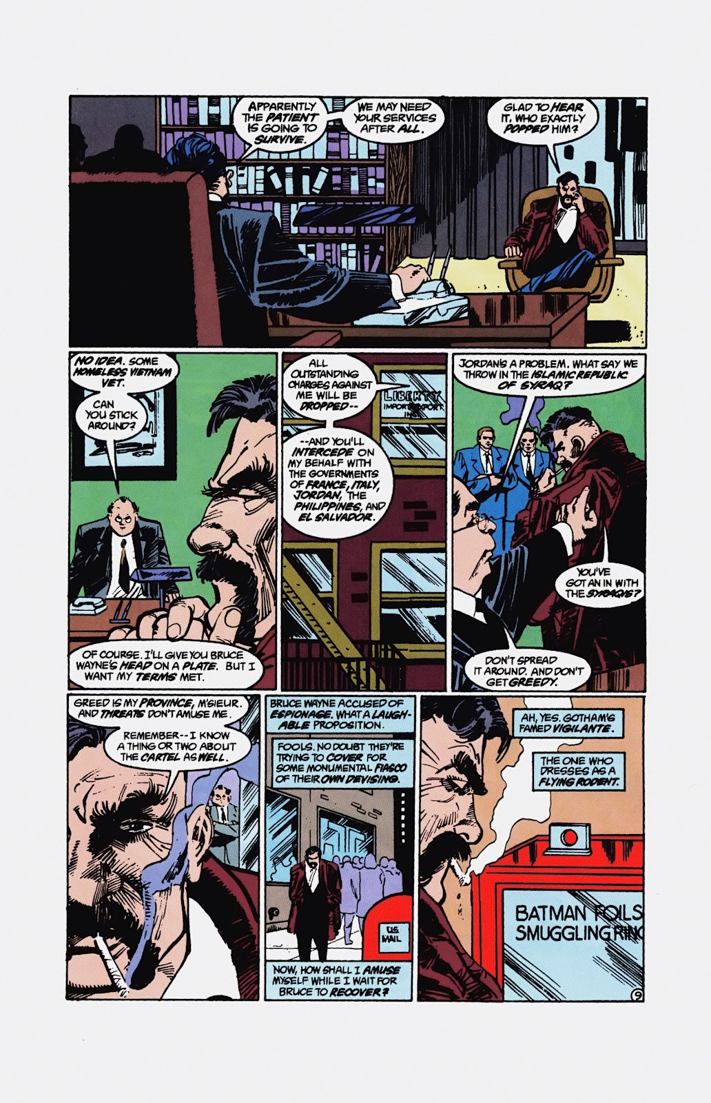Read online Detective Comics (1937) comic -  Issue # _TPB Batman - Blind Justice (Part 1) - 96