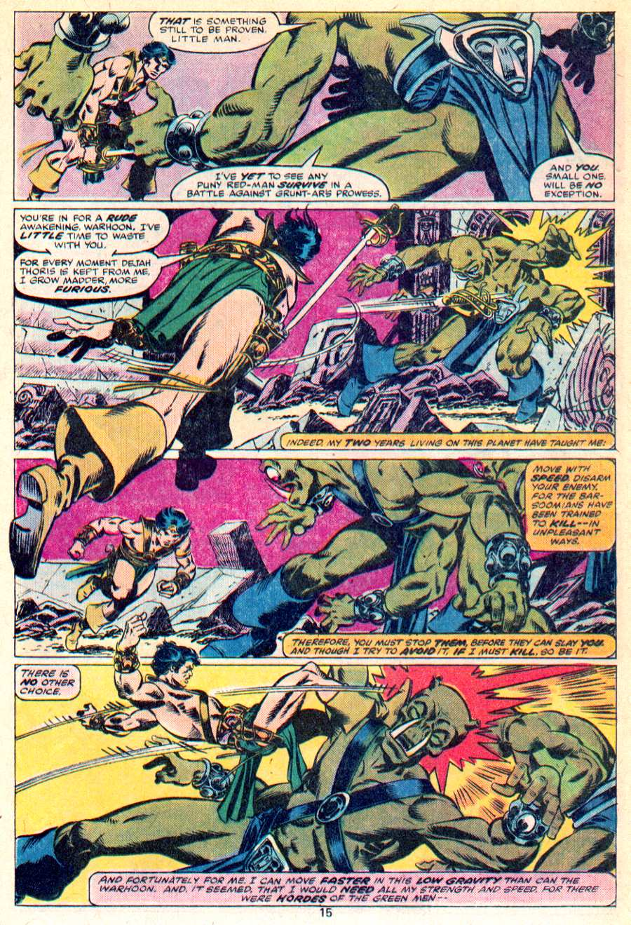 John Carter Warlord of Mars issue 1 - Page 10