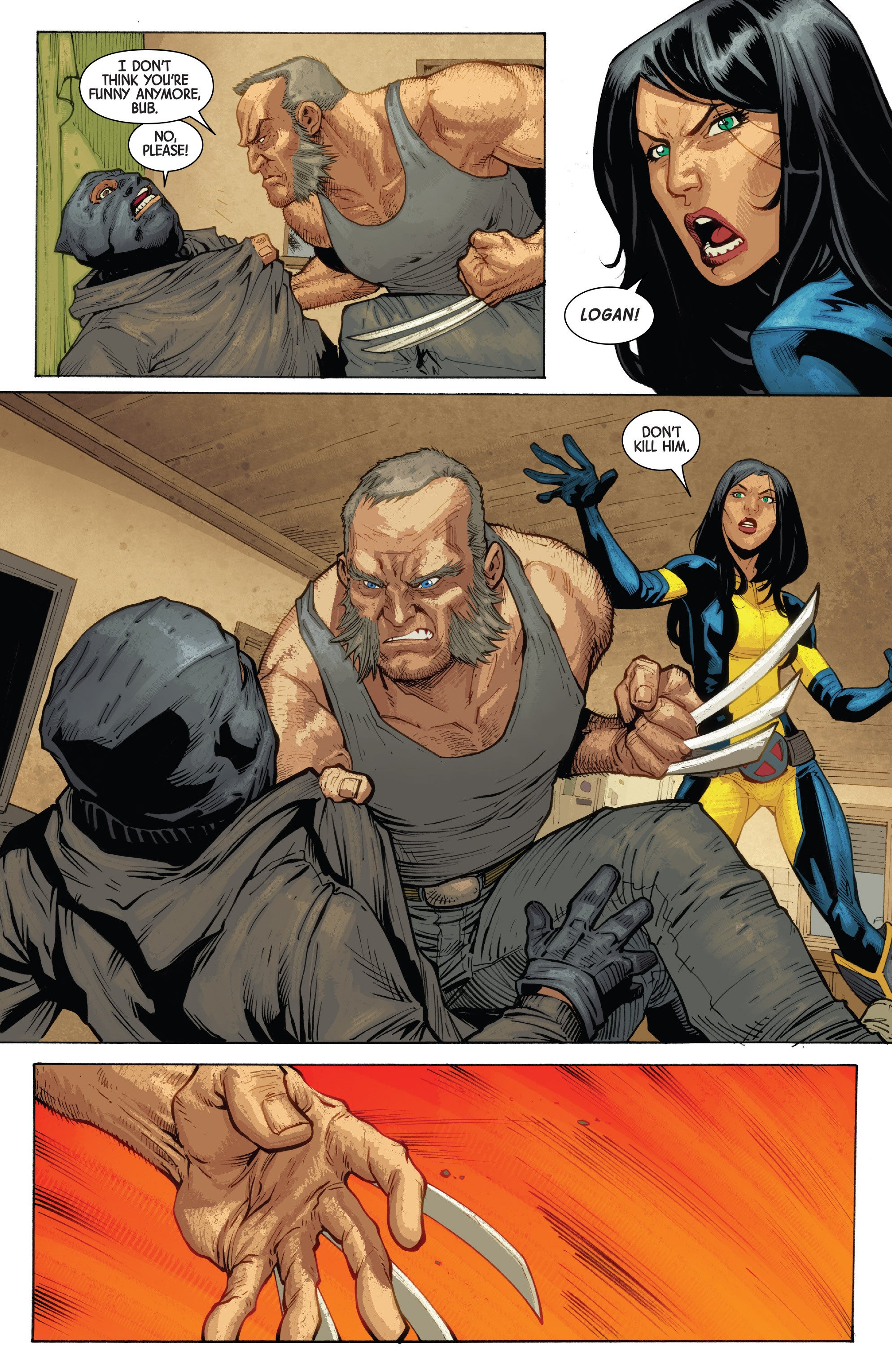 Read online All-New Wolverine (2016) comic -  Issue #10 - 20