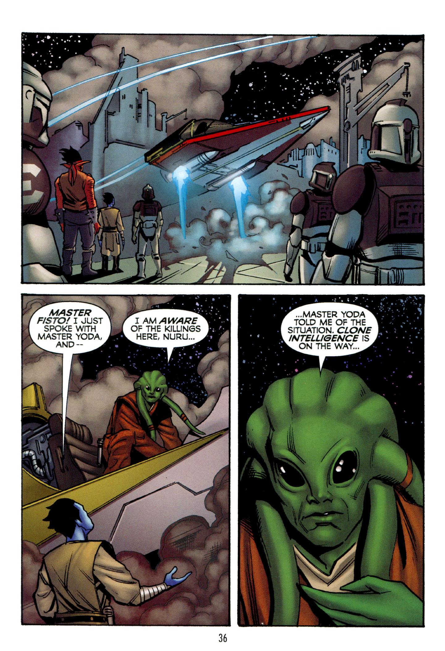 Read online Star Wars: The Clone Wars - Strange Allies comic -  Issue # Full - 37