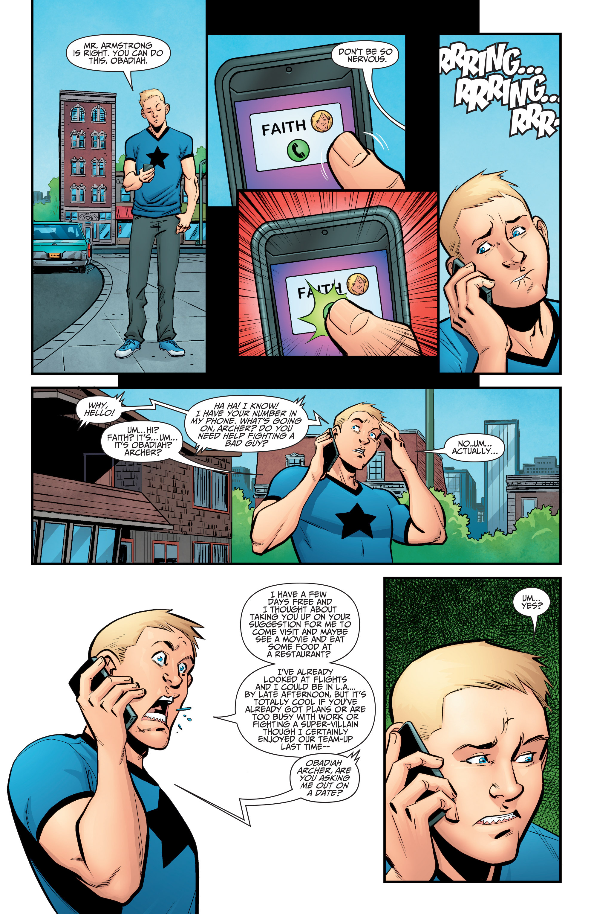 Read online A&A: The Adventures of Archer & Armstrong comic -  Issue #5 - 4
