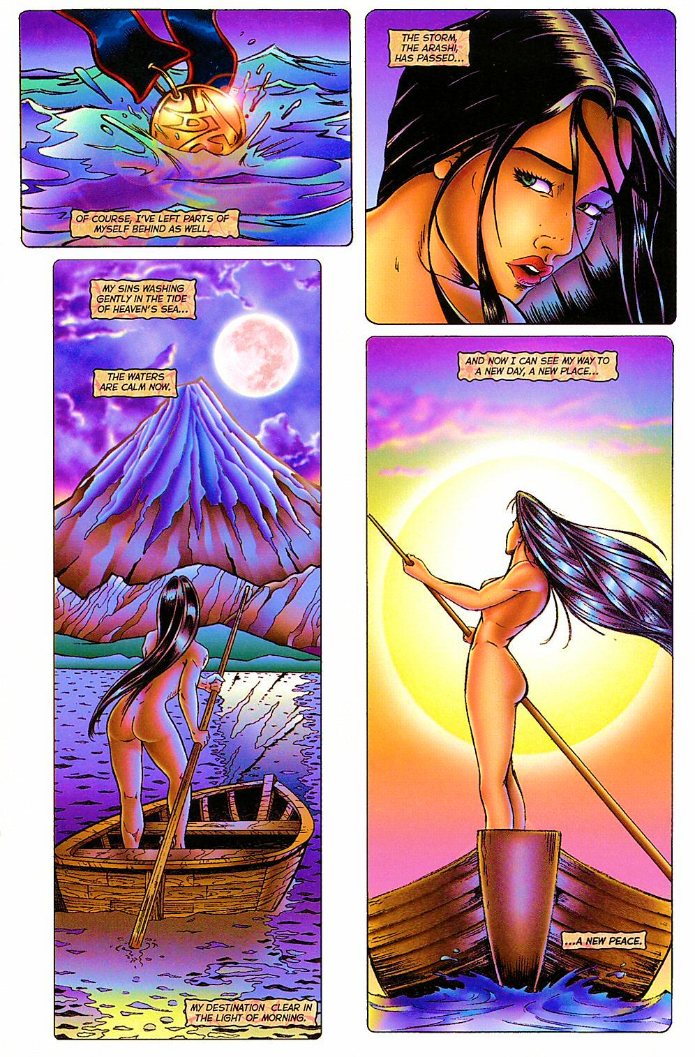 Read online Shi: The Way of the Warrior comic -  Issue #12 - 23