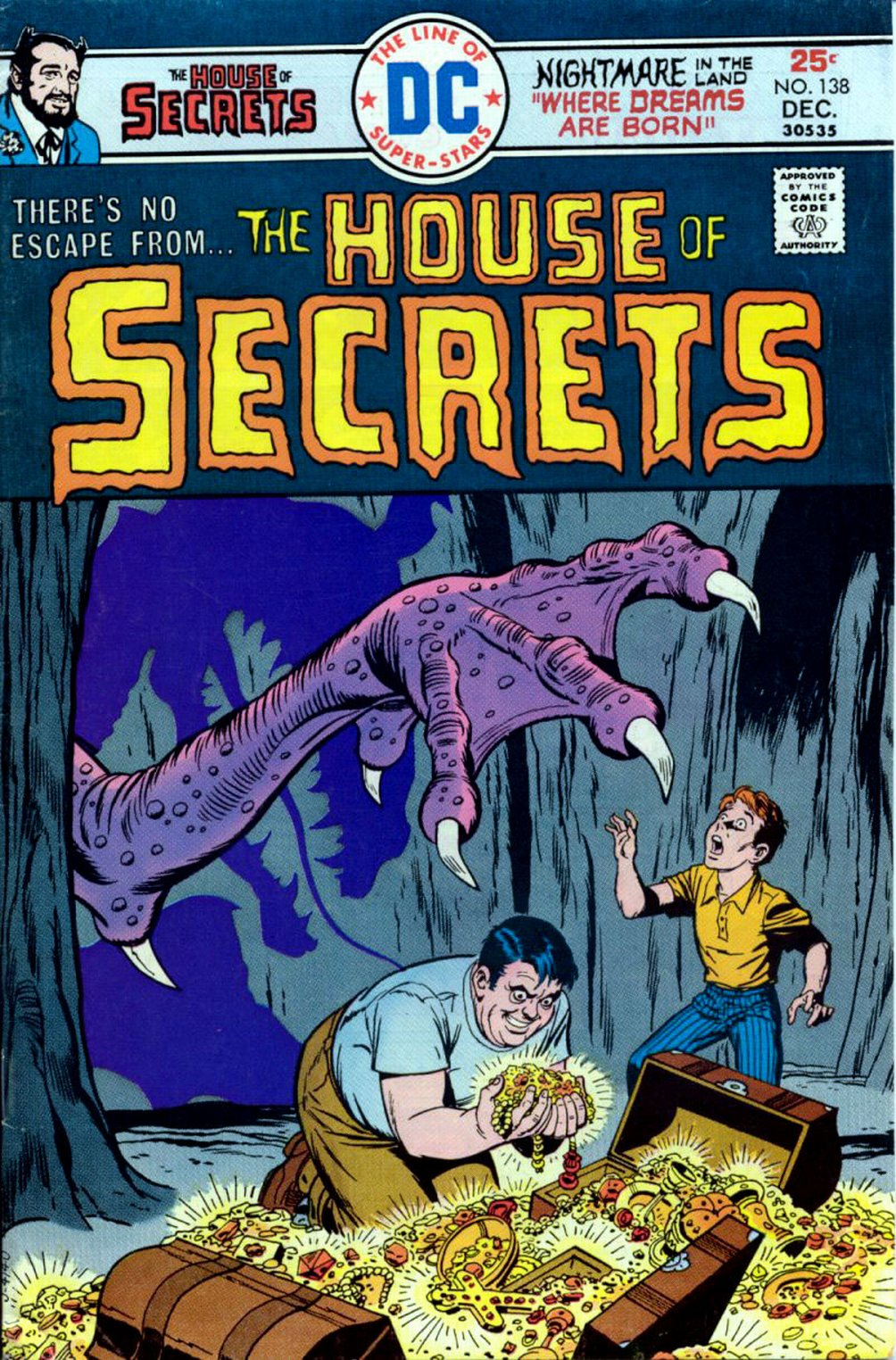 House of Secrets (1956) issue 138 - Page 1