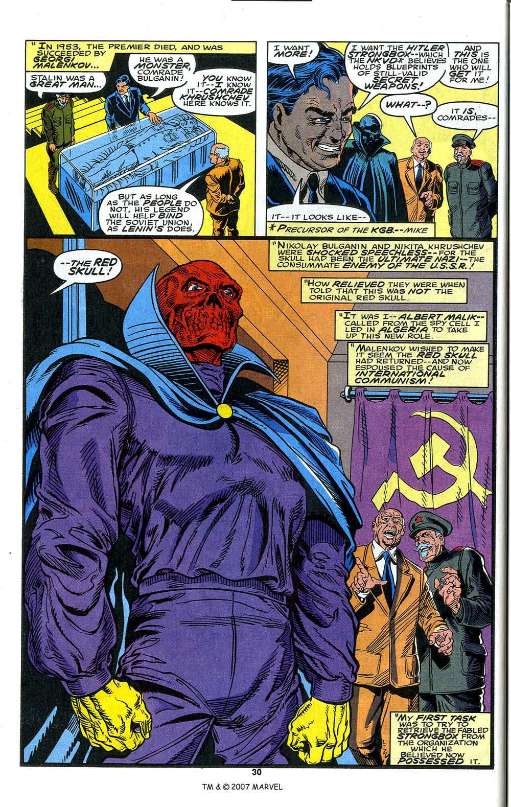 Read online Captain America (1968) comic -  Issue # _Annual 13 - 32