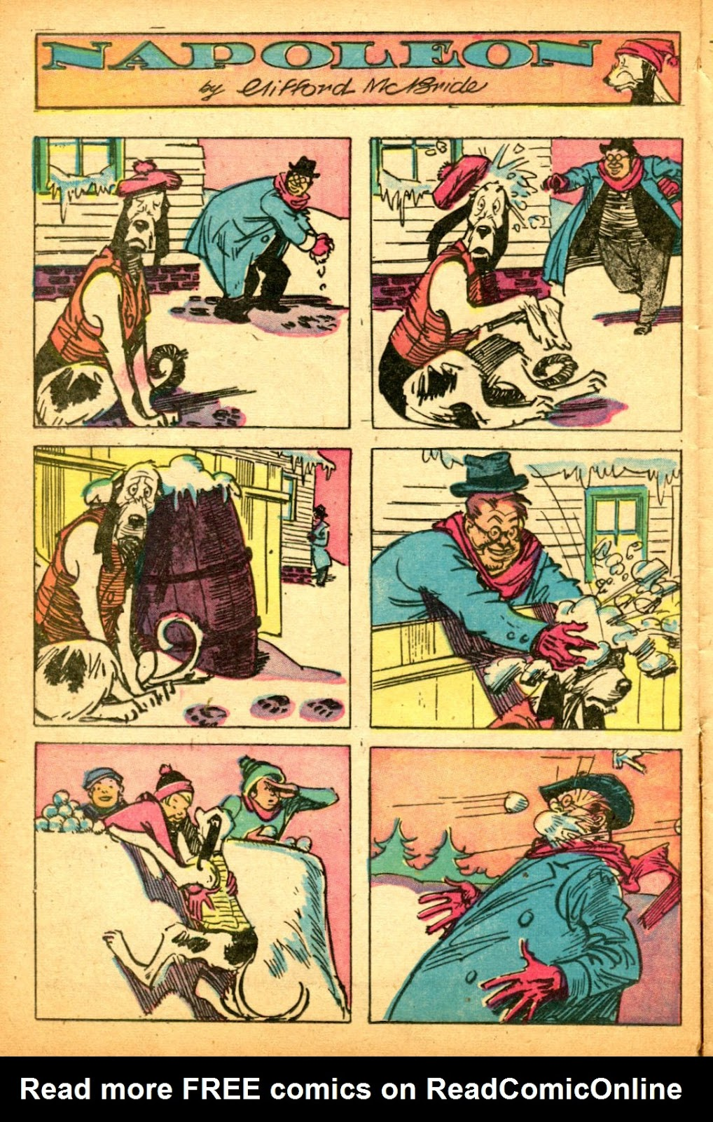 Read online Famous Funnies comic -  Issue #151 - 38