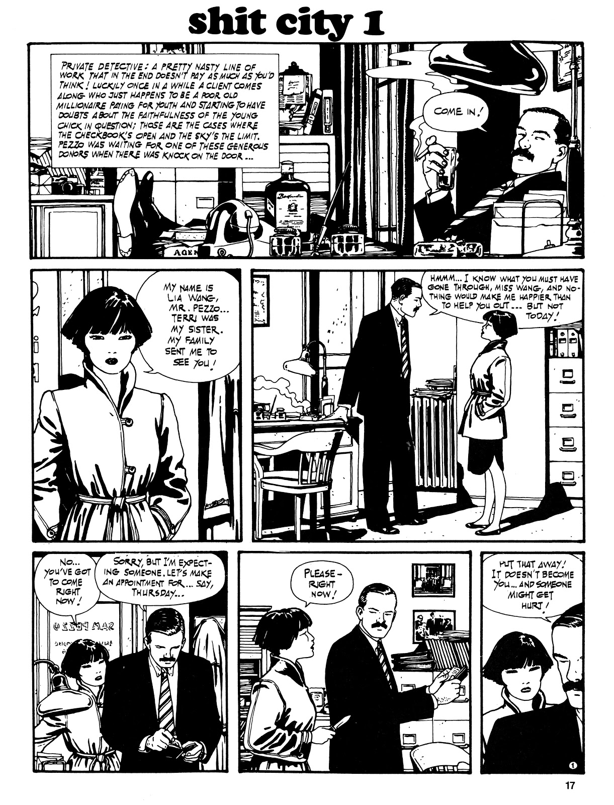 Read online Cases from the Files of Sam Pezzo, P.I. comic -  Issue # Full - 18
