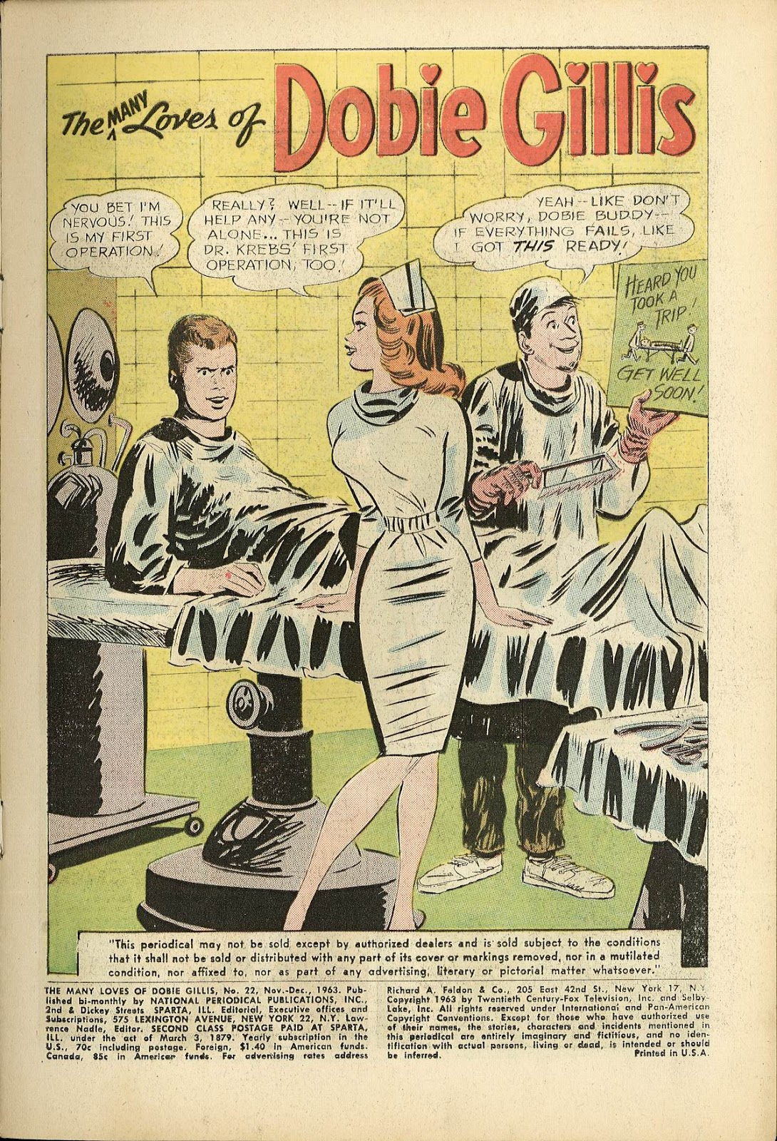 Many Loves of Dobie Gillis issue 22 - Page 3