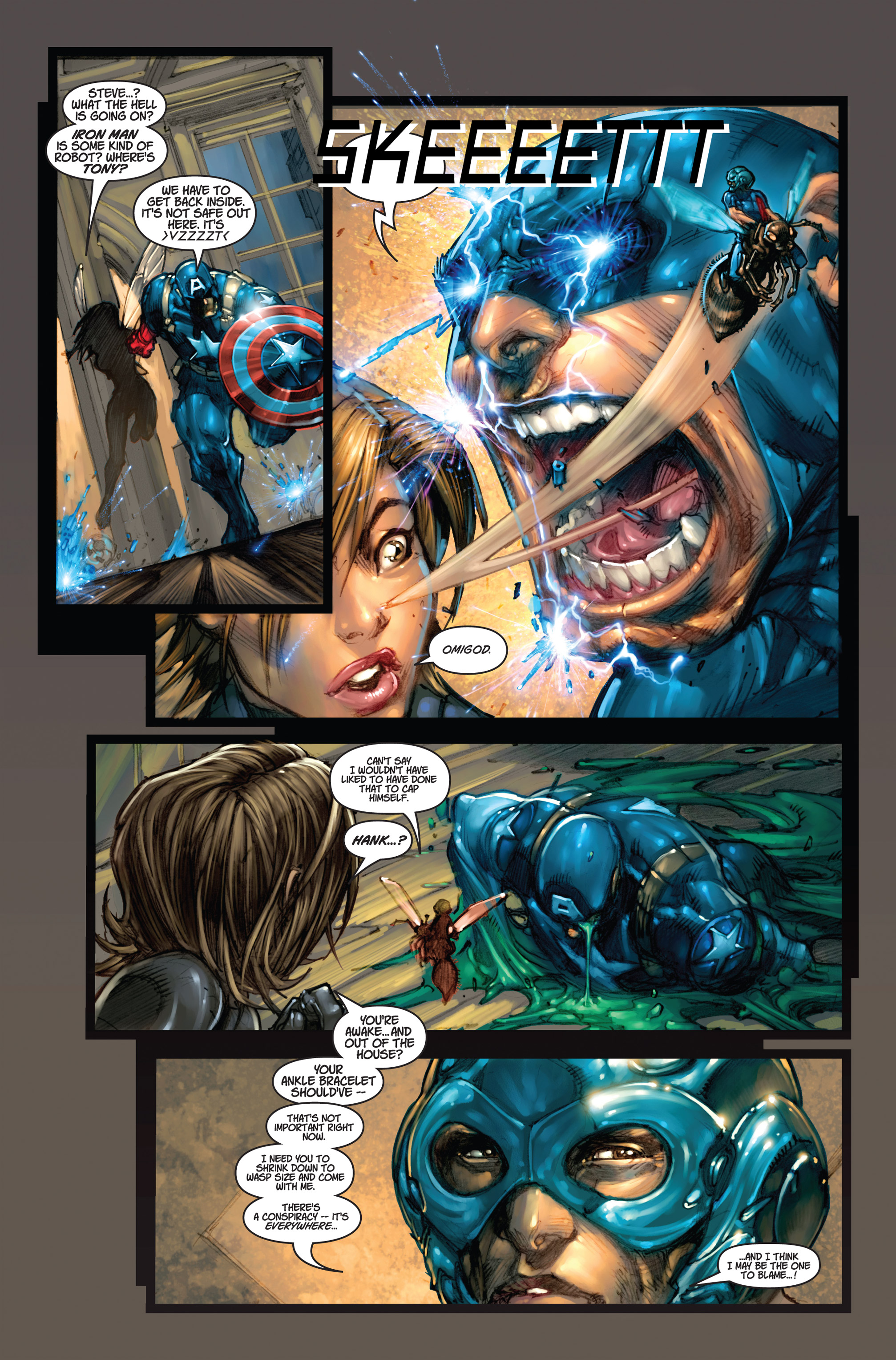 Read online Ultimates 3 comic -  Issue #4 - 8