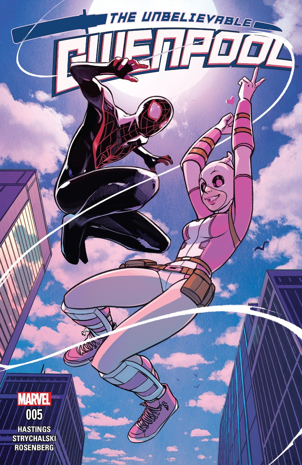 The Unbelievable Gwenpool 5 Page 1