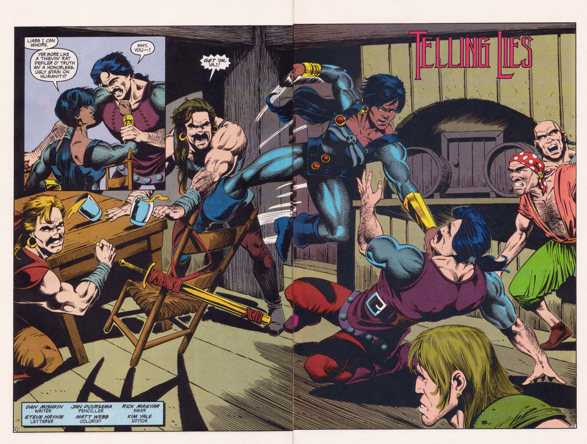 Read online Advanced Dungeons & Dragons comic -  Issue #34 - 5