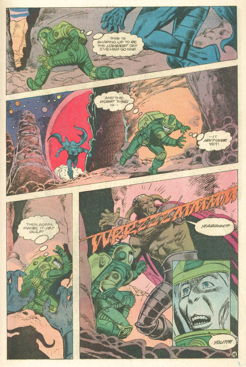 Read online Atari Force (1984) comic -  Issue #14 - 16