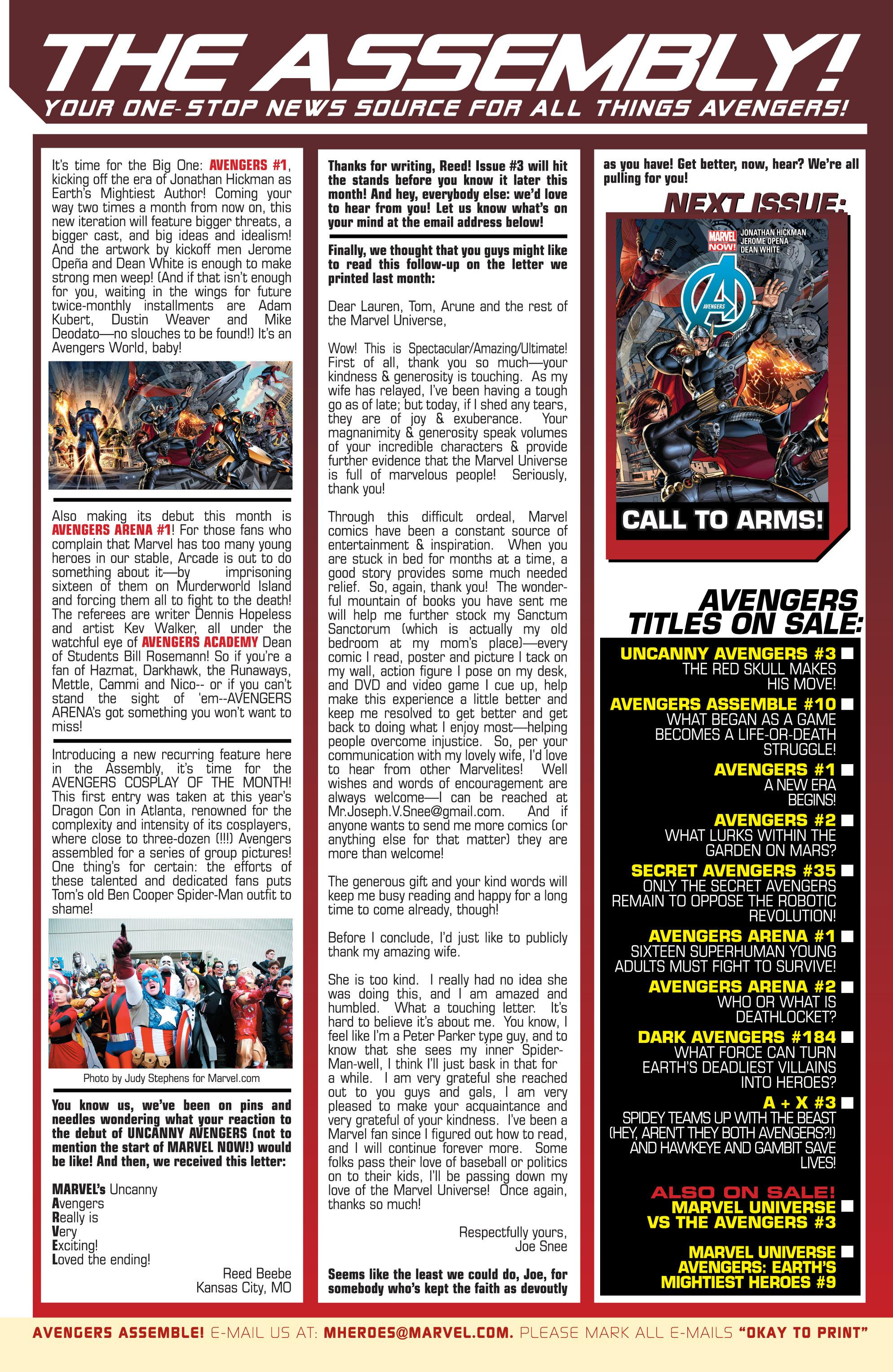Read online Avengers (2013) comic -  Issue #Avengers (2013) _TPB 1 - 28