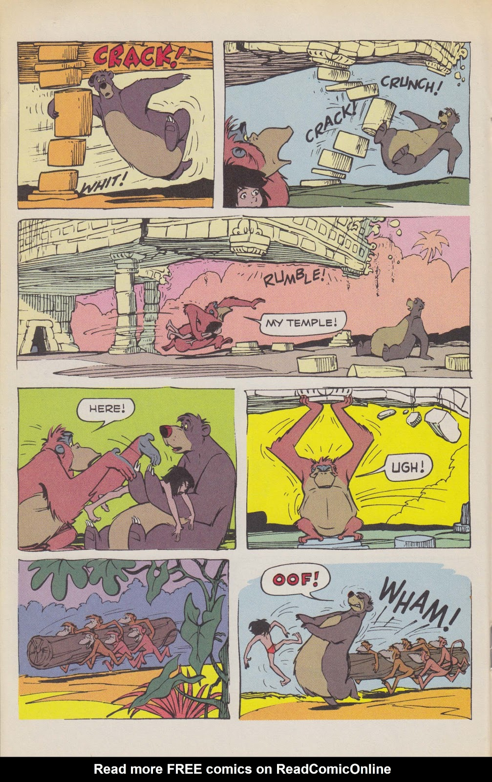 Read online The Jungle Book comic -  Issue # Full - 34